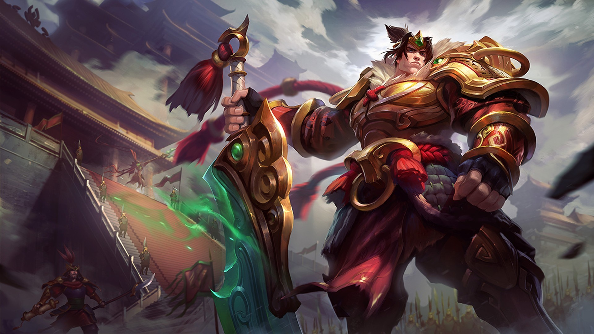 Xin zhao wallpaper 76 images 1920x1080 world of warcraft devils advocate wallpaper voltagebd Image collections