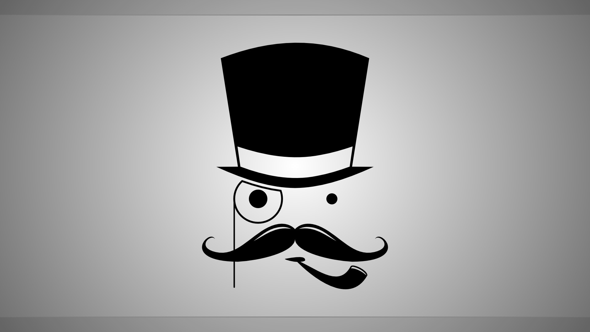 1920x1080 1366x768 Mustache Desktop Backgrounds