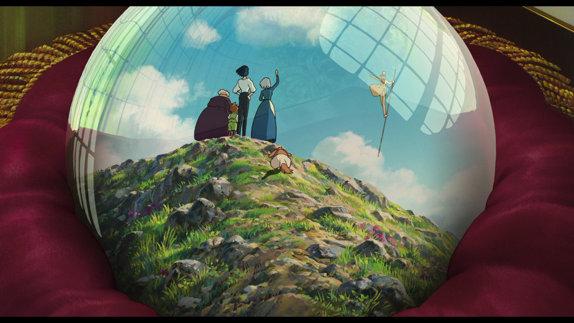 1920x1080 OVERALL – 4.0/5. Overall, Howl's Moving Castle ...