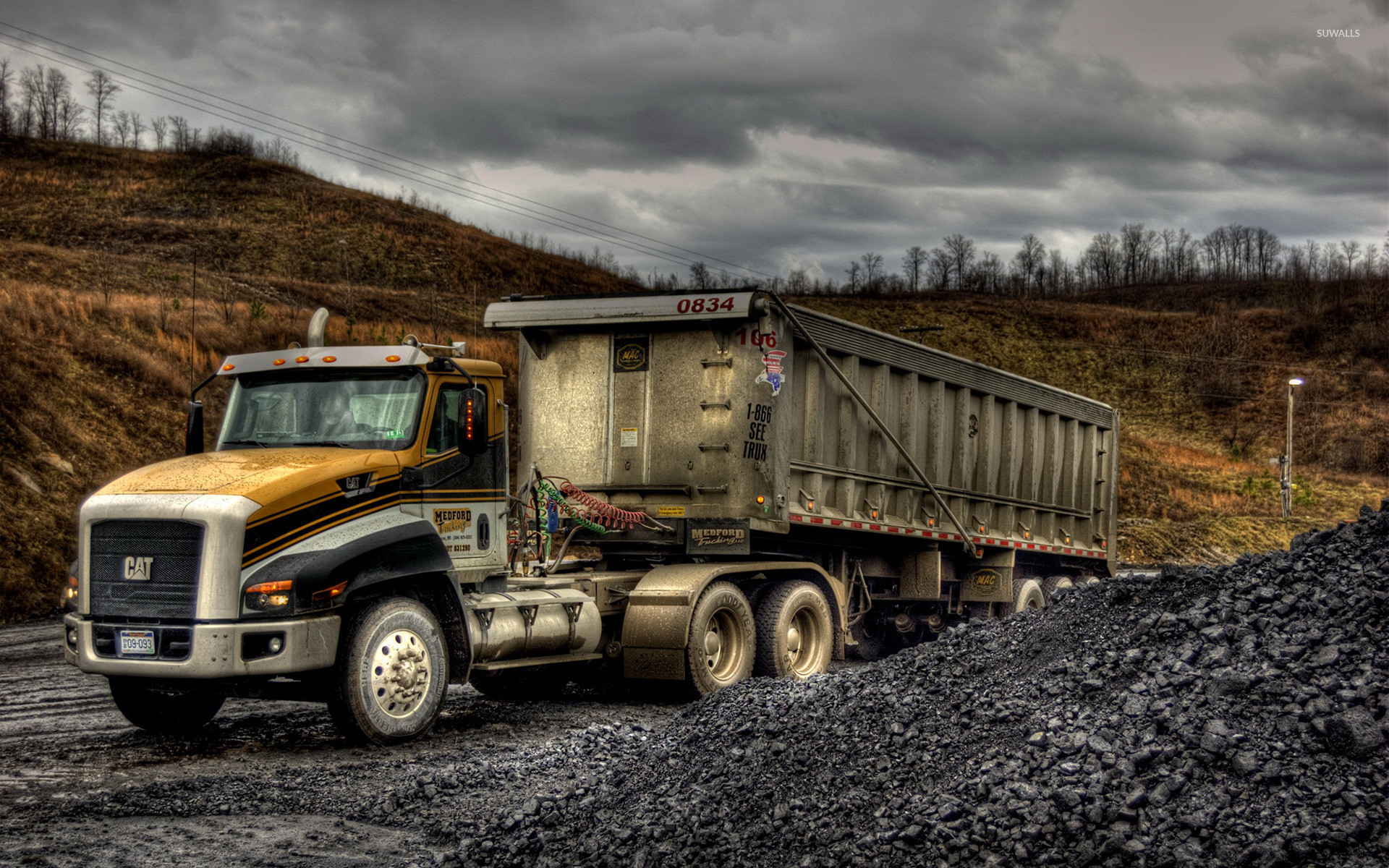 1920x1200 Caterpillar truck wallpaper - Photography wallpapers - #47927 ~ Truck  Wikipedia