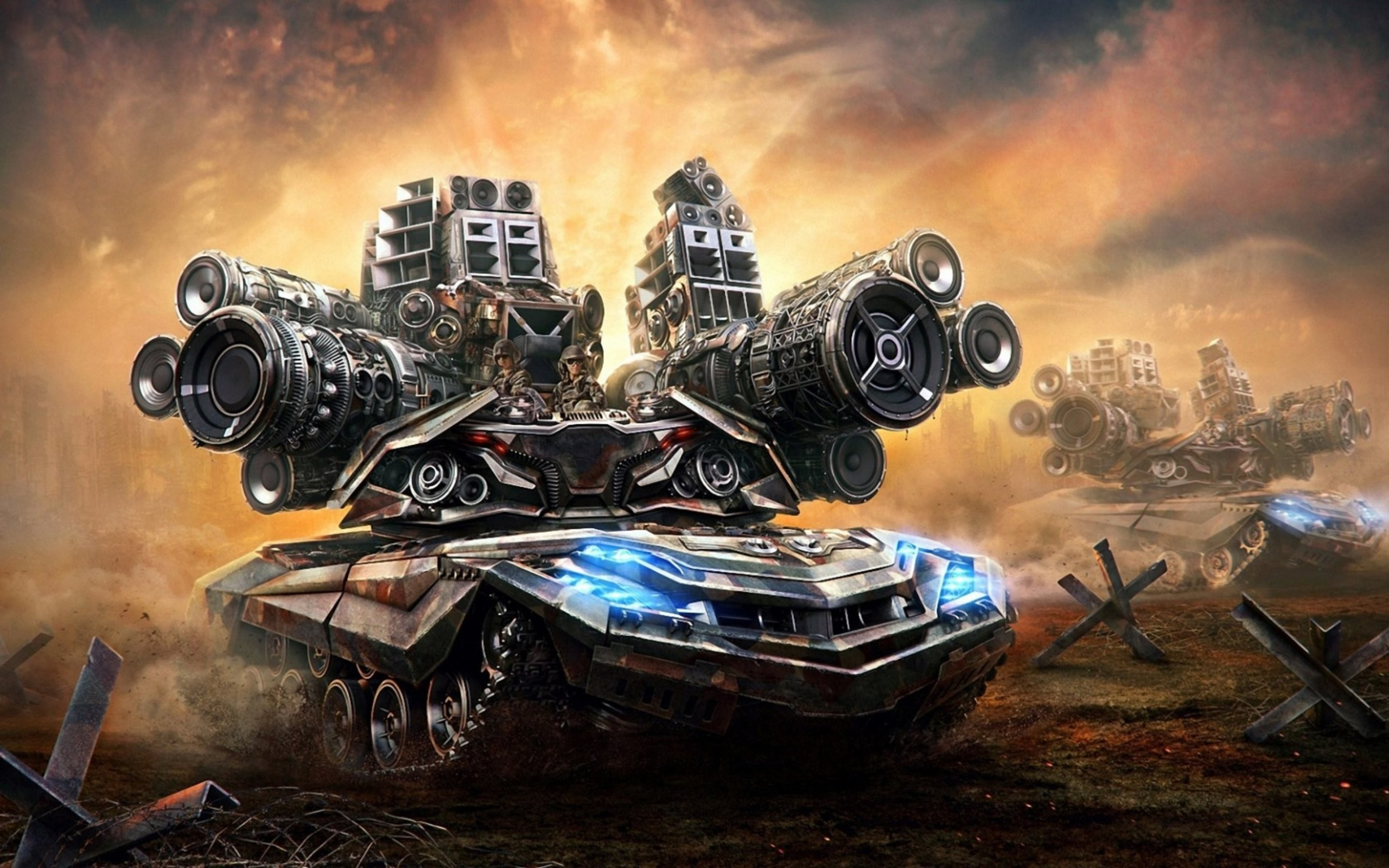 2560x1600 Future of Tanks - HD Wallpapers Widescreen -