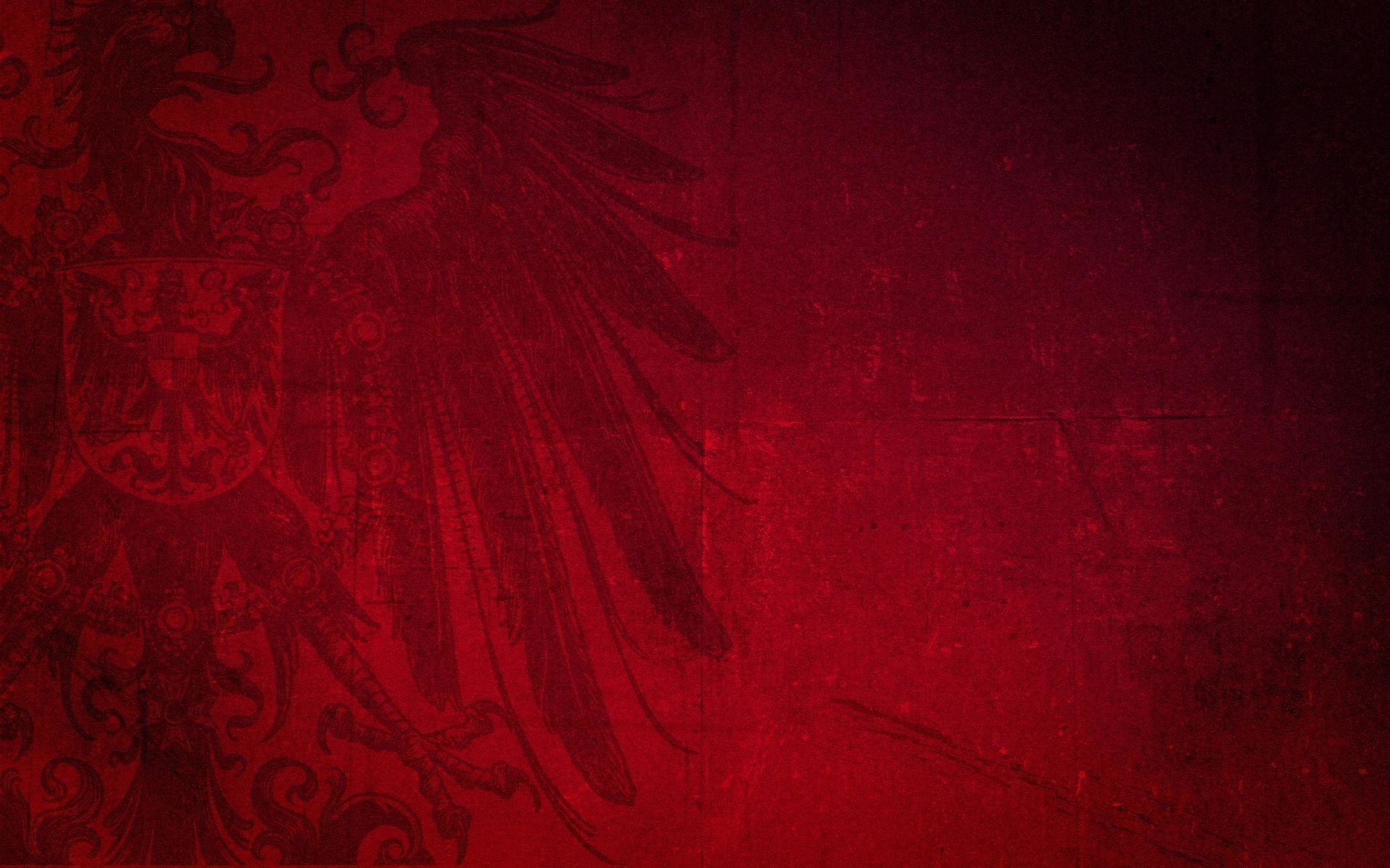 1920x1200 Dark Red Background with Eagle Wallpaper and Stock Photo