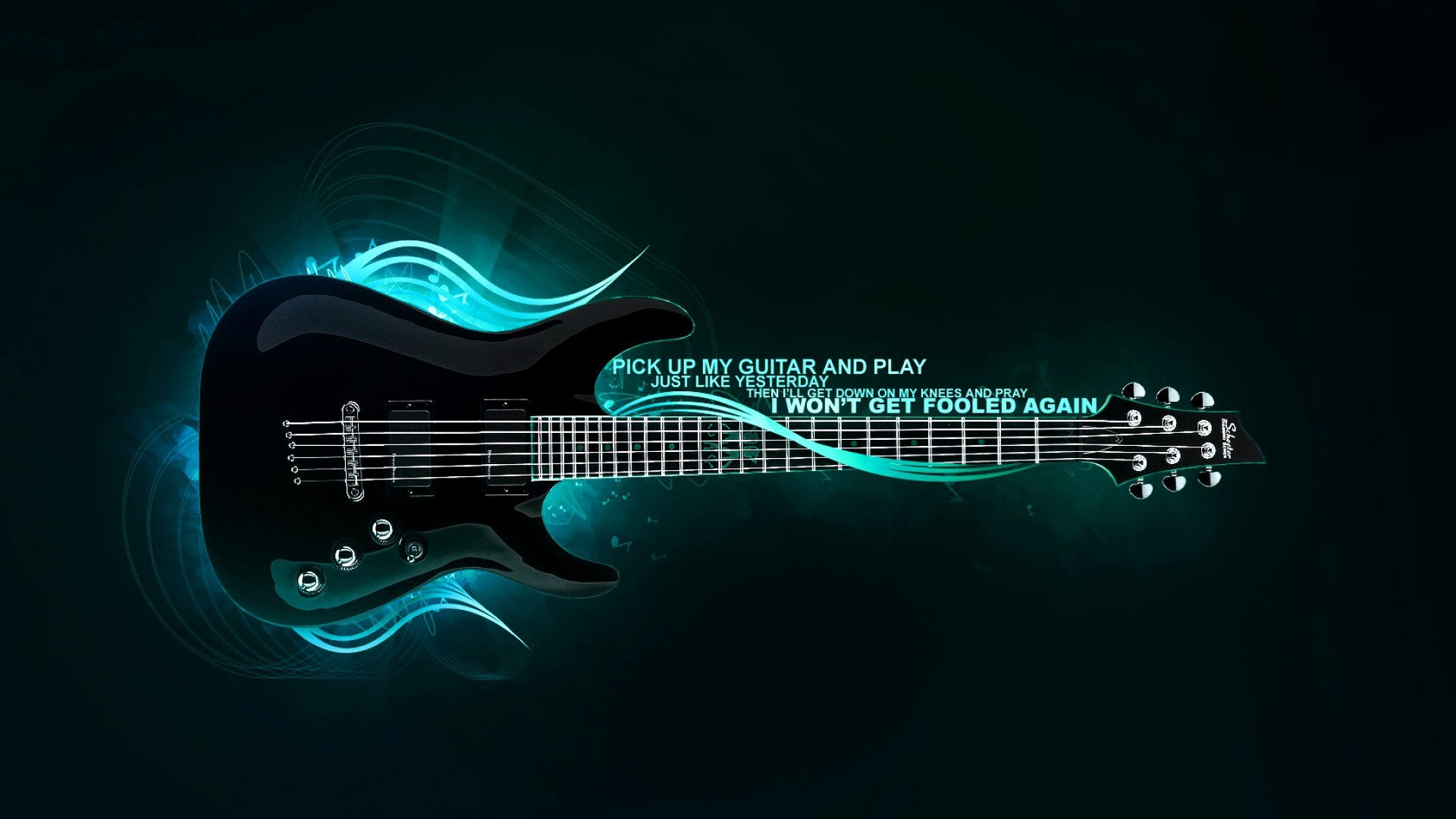 Awesome rock guitar wallpapers