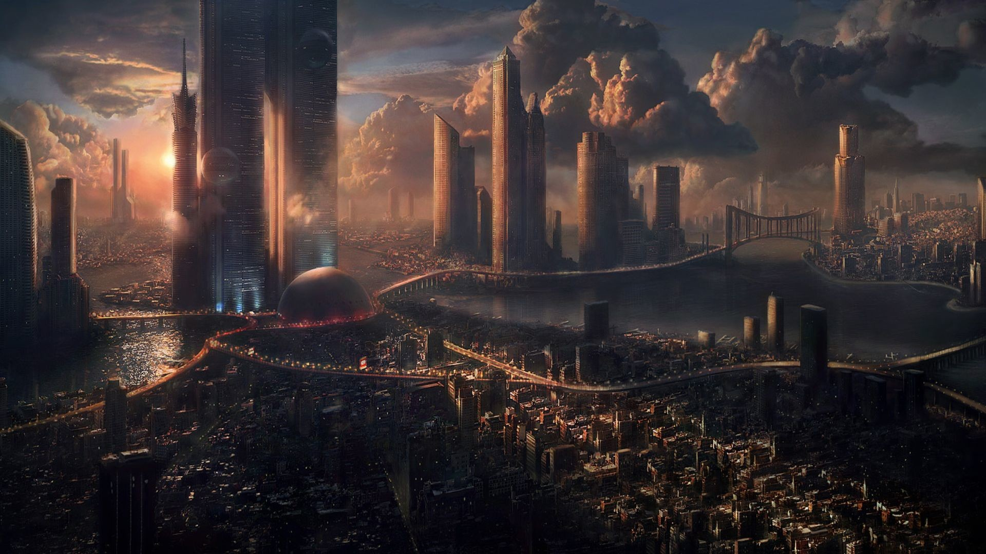 Sci Fi City Wallpapers 74 images