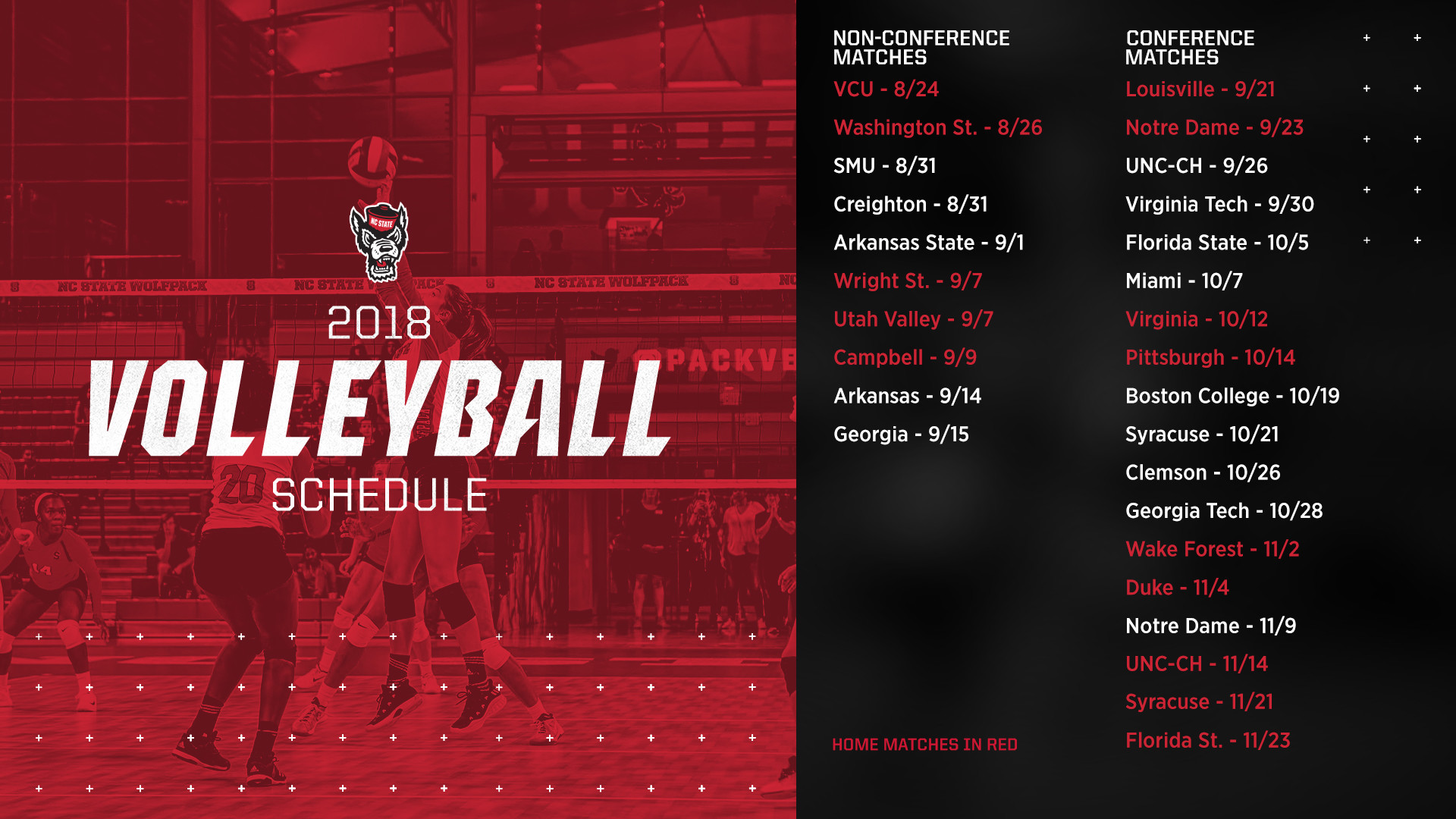 1920x1080 For the second consecutive season, NC State will participate in the ACC-SEC  Challenge, as Georgia Tech will host this year's event. The Wolfpack will  play ...