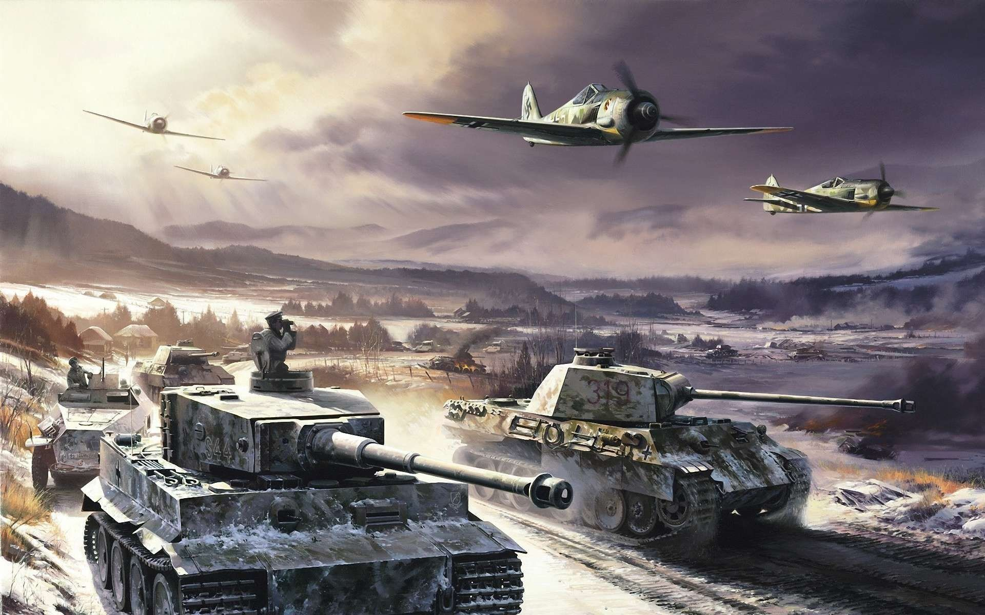 Tiger Tank Wallpaper 73 Images