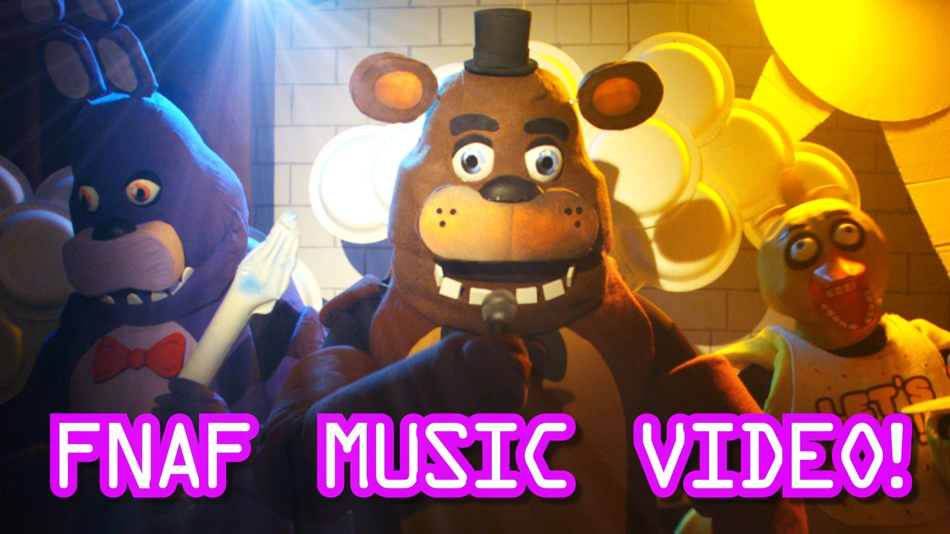 1920x1080 Five Nights At Freddys Live Action Music Video - FNAF Song for kids -  YouTube