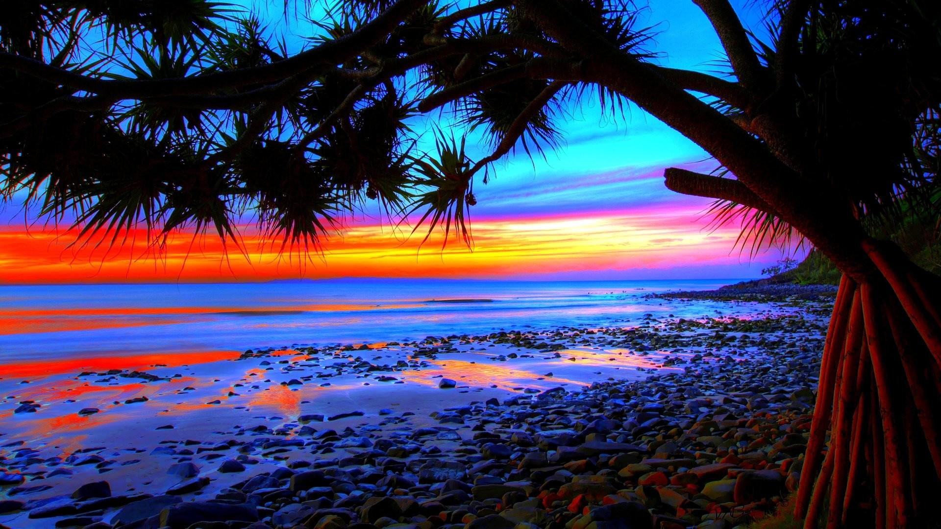 1920x1200 Beach Sunset Background Hd Wallpaper 24 HD Wallpapers