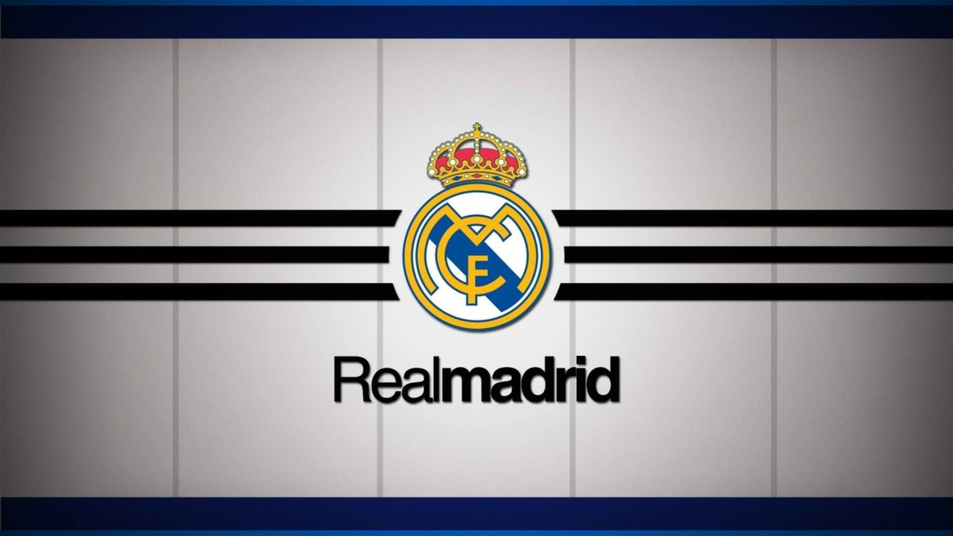 1920x1080  Real Madrid CF Logo Wallpaper | Wallpapers HD | Wallpaper High  Quality