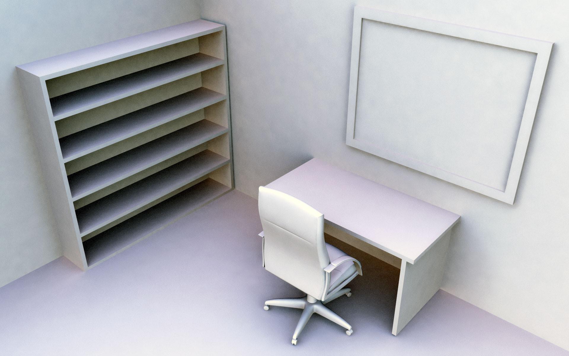 Empty office desktop wallpaper images