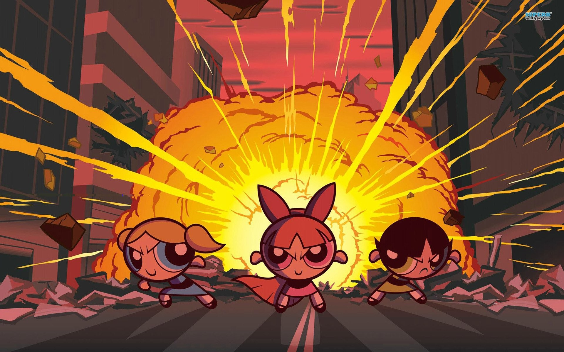 1920x1200 Blossom Bubbles And Buttercup - The Powerpuff Girls 447286 ...