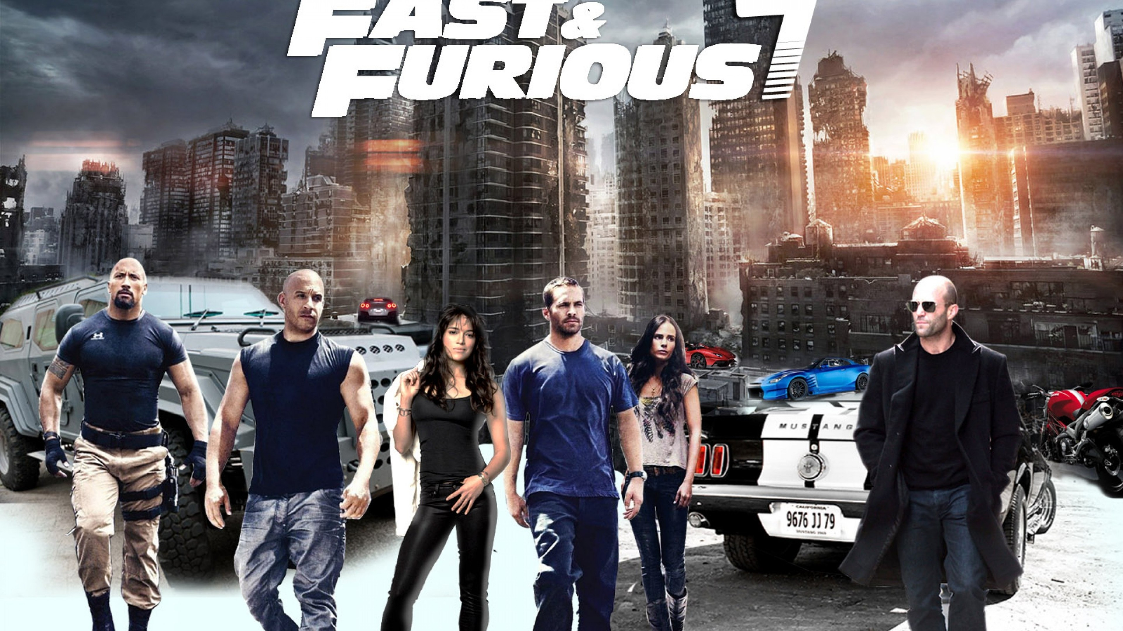 Fast And The Furious 7 Wallpaper
