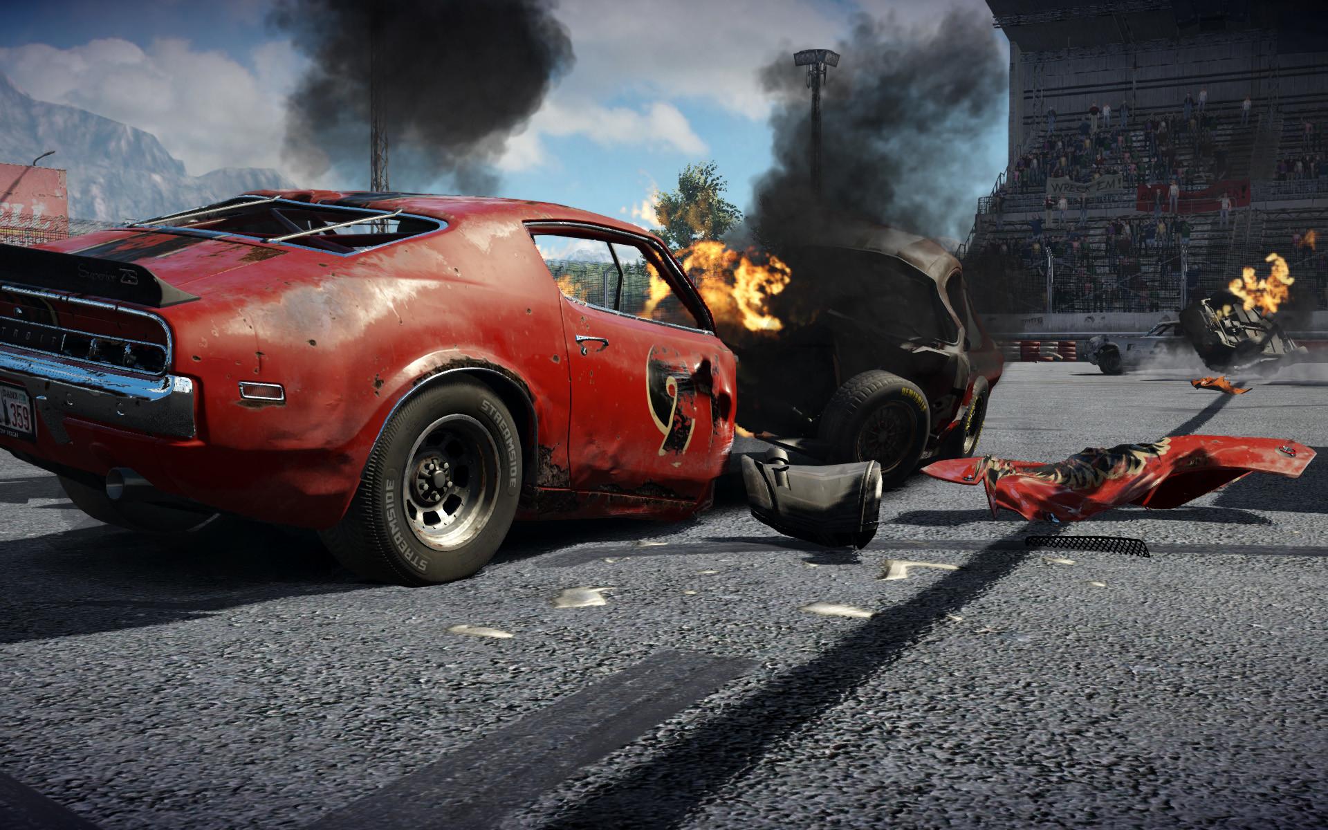Racing Car Games Hd Wallpaper: Car Crash Wallpaper (62+ Images