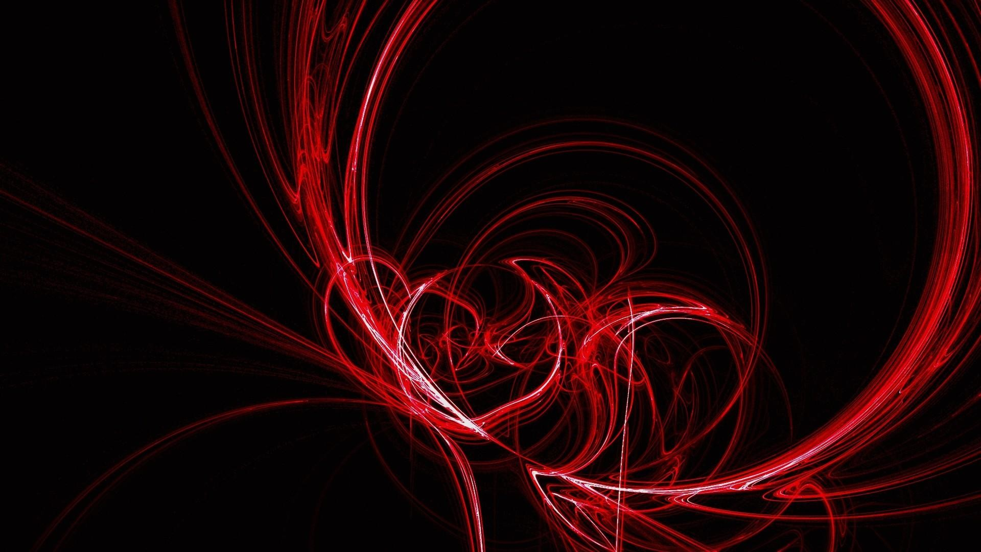 1920x1080 Red Abstract Artwork Wallpaper 28438