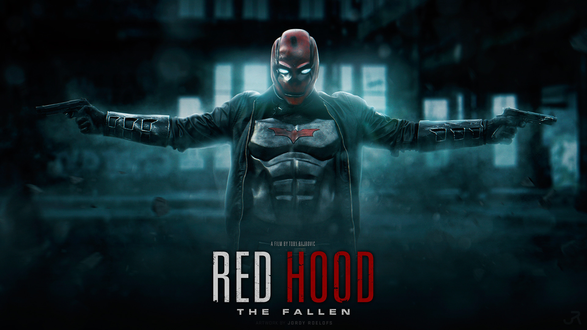 1920x1080 RED HOOD THE FALLEN - Wallpaper 1080P by visuasys