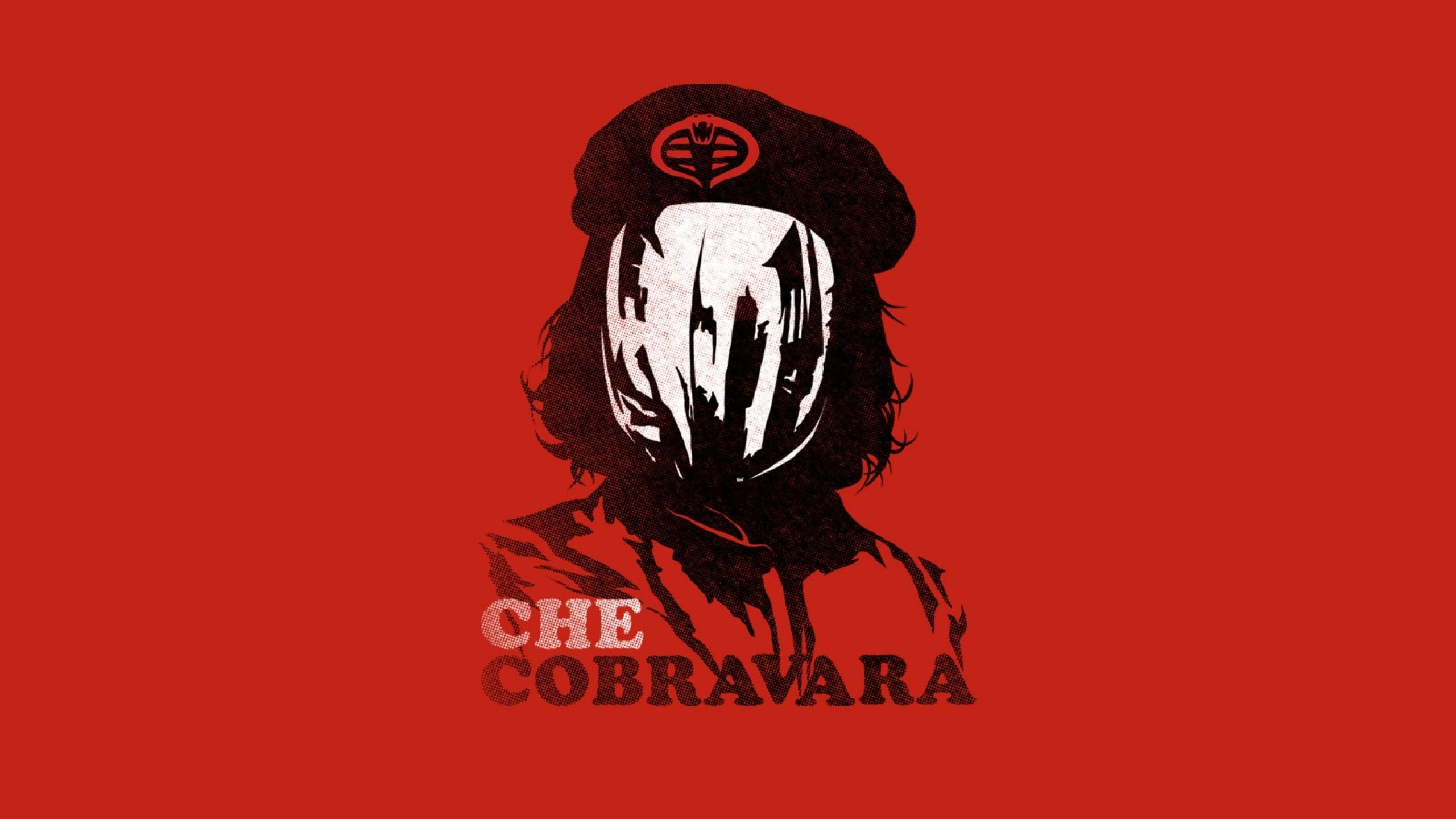 2560x1440 minimalistic che funny gi joe cobra command 1600x900 wallpaper Art HD  Wallpaper