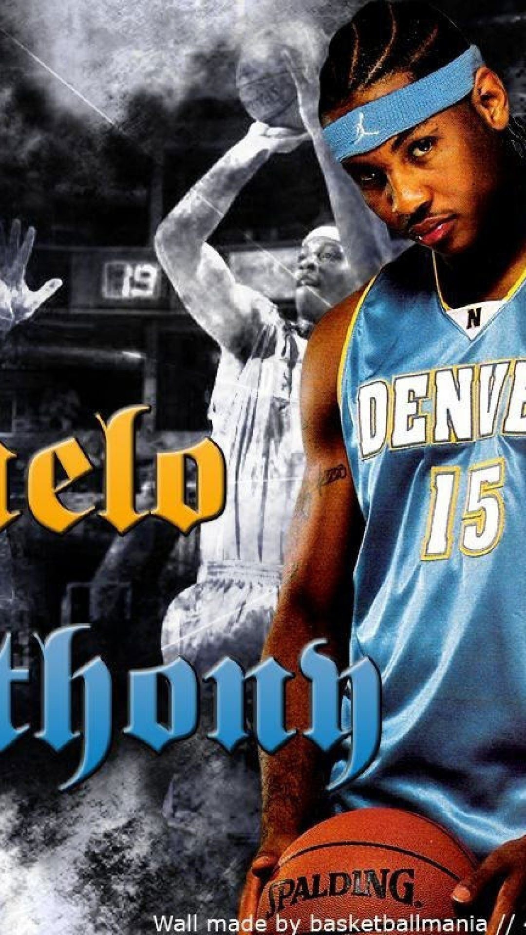1080x1920 Carmelo Anthony Denver Nuggets Wallpaper ( px)