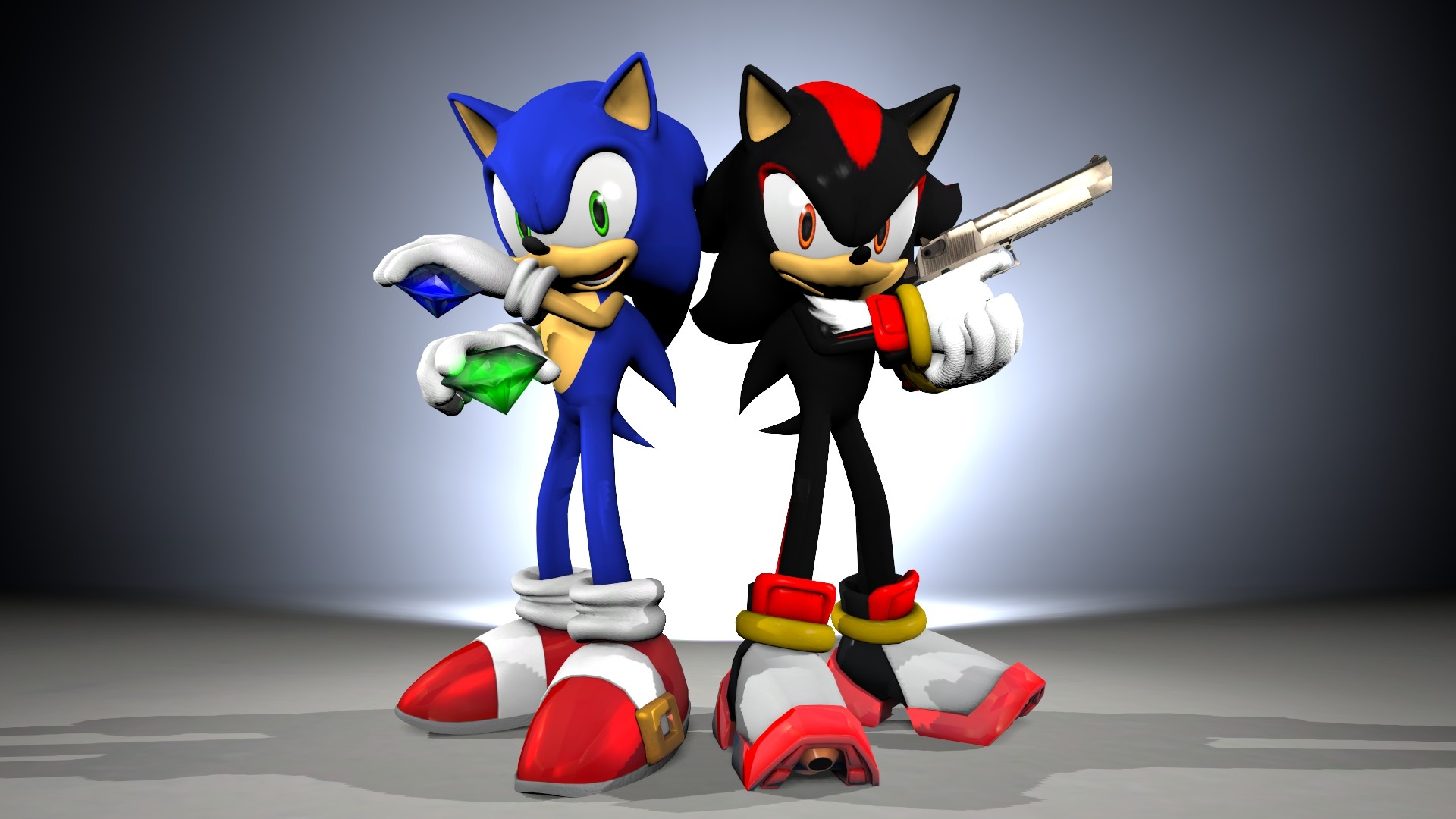 1920x1080 ... Sonic n' Shadow [Wallpaper Attempt] by TheRiverKruse