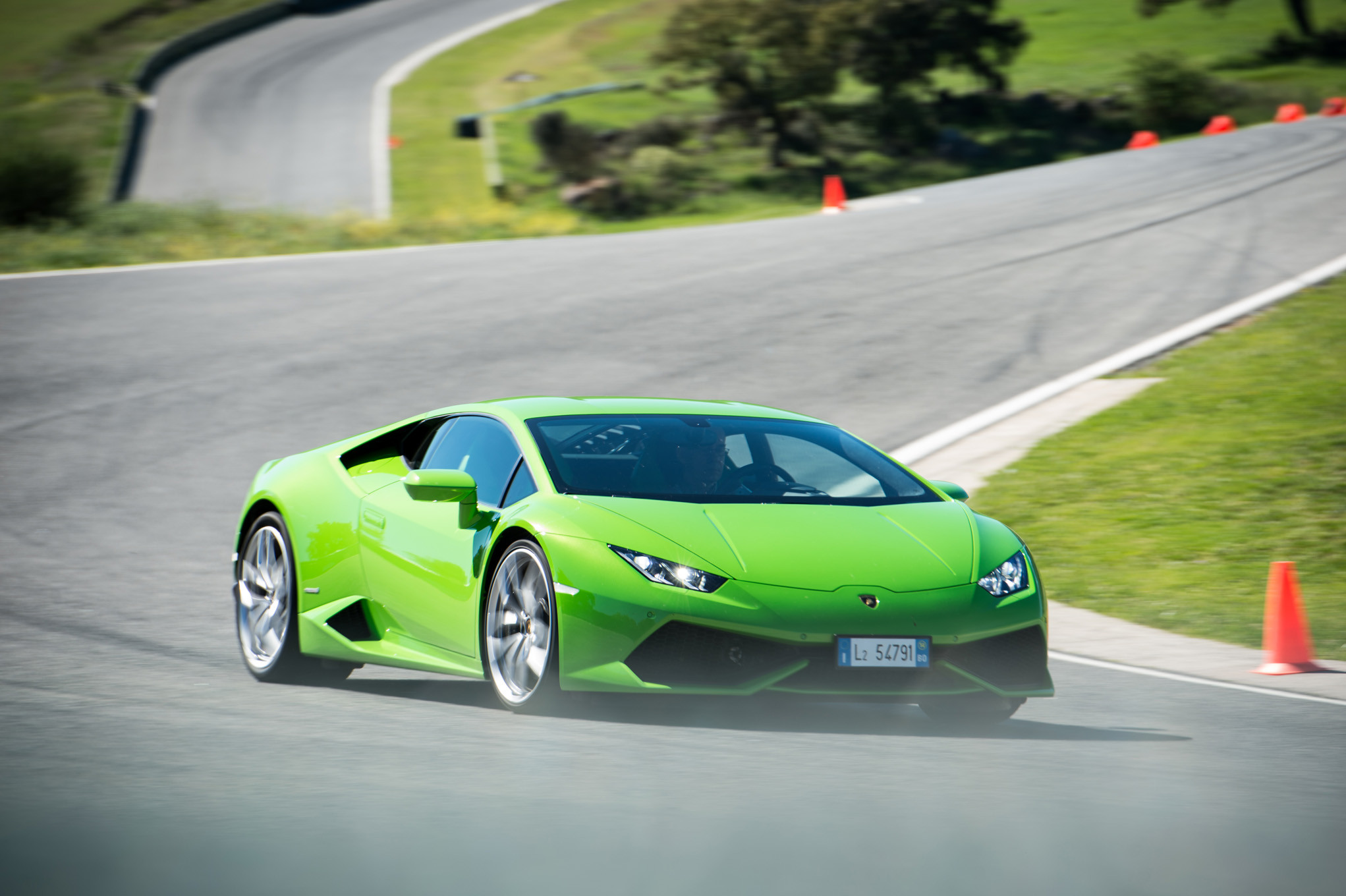 2043x1360 You can download Lamborghini Huracan Green Rear Hd Wallpapers here.  Lamborghini Huracan Green Rear Hd