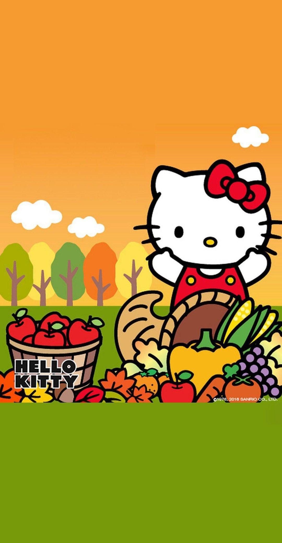 Hello Kitty Fall Wallpaper