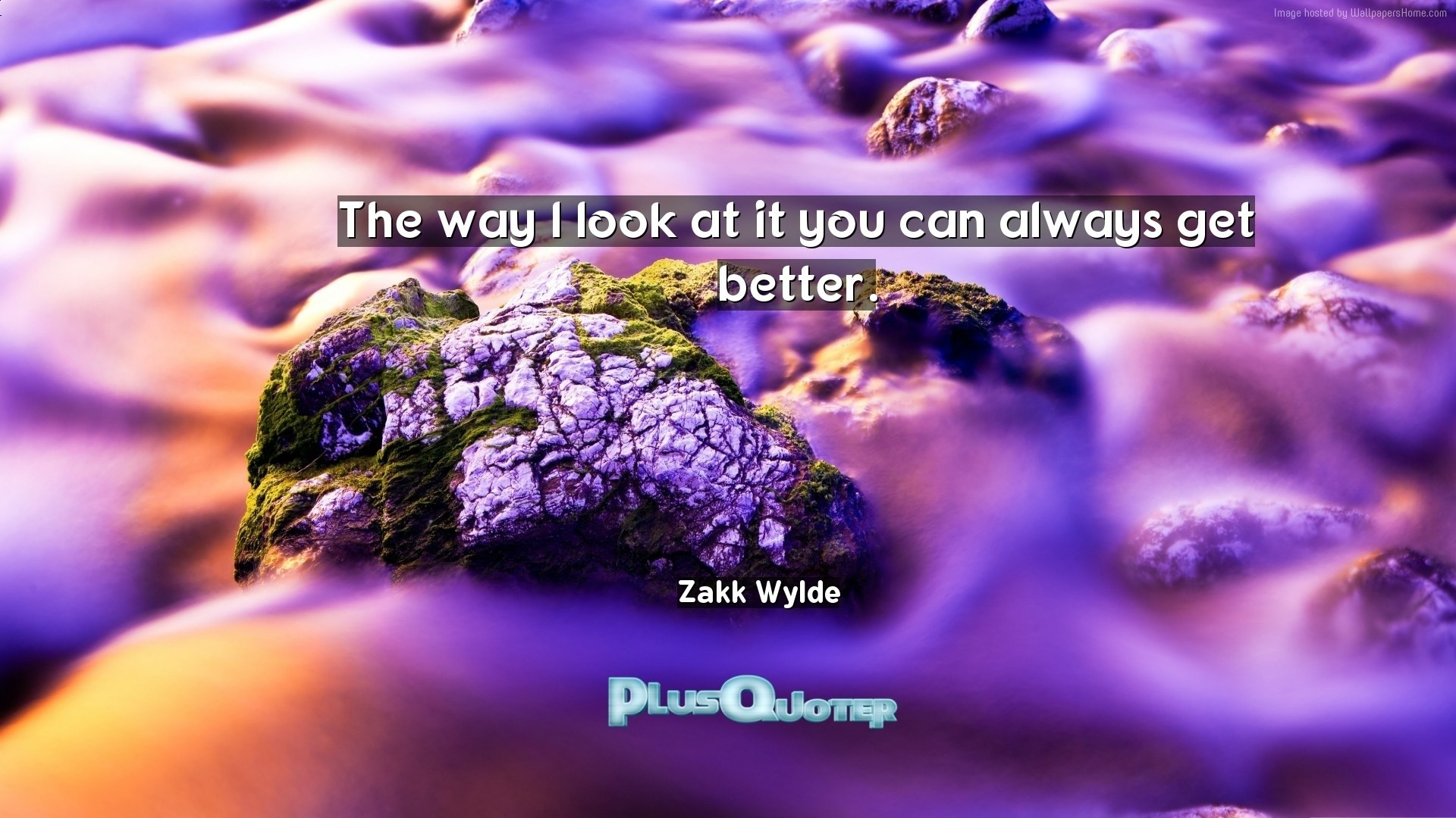 "1920x1080 Download Wallpaper with inspirational Quotes- ""The way I look at it you can  always"