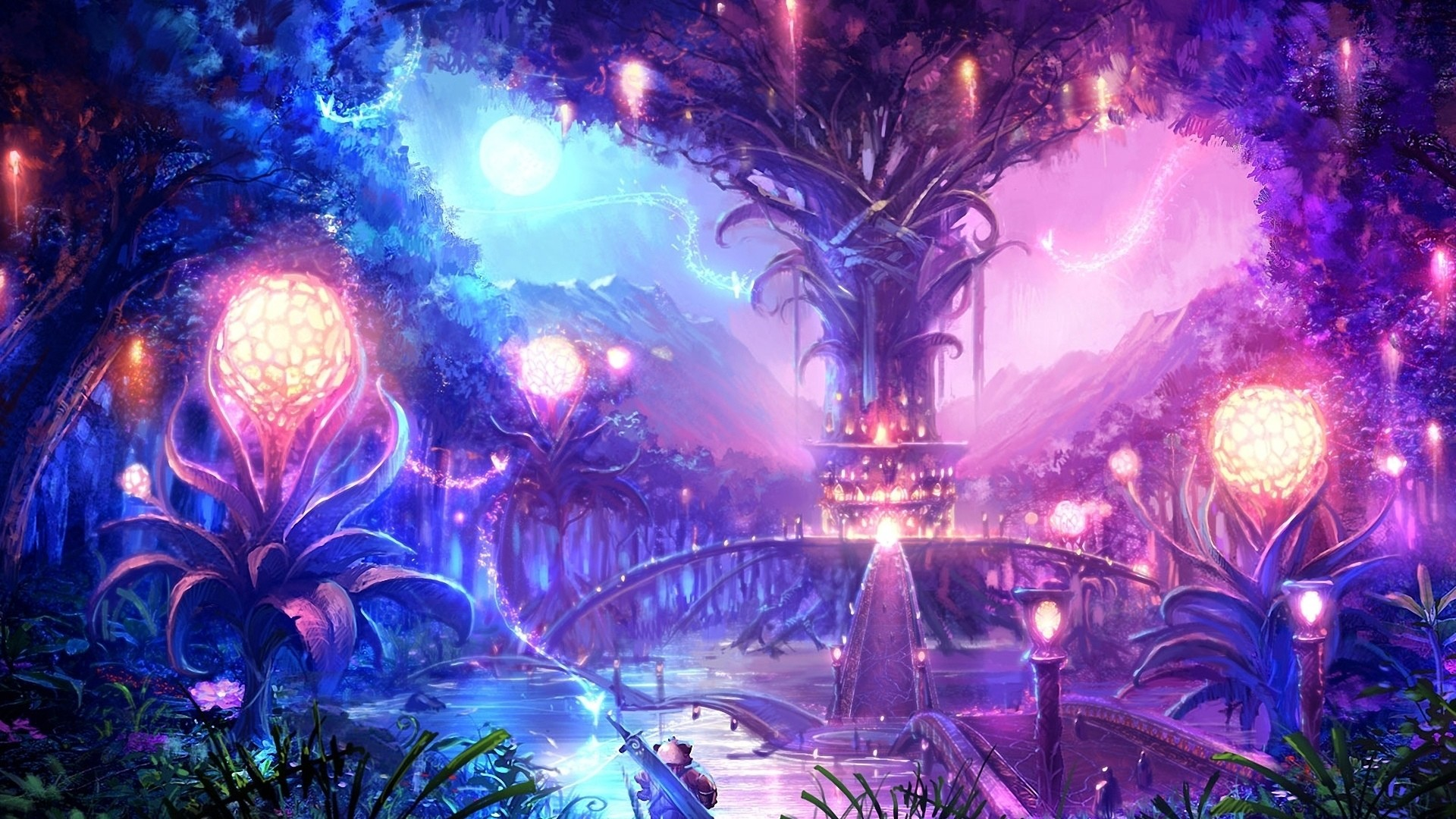 Anime Fantasy Wallpaper 74 Images