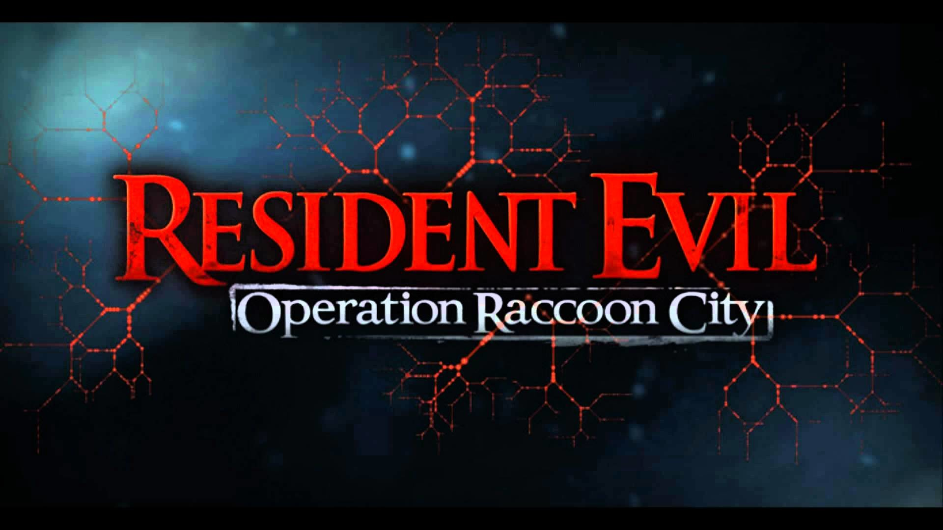 1920x1080 Resident Evil - Operation Raccoon City USS Wolfpack menu theme