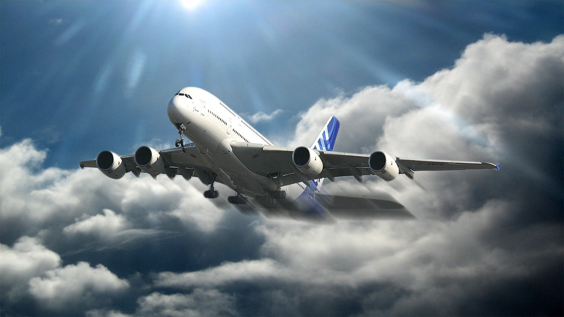 1920x1080 AIRBUS A380 airliner plane airplane transport (73) wallpaper |  |  357394 | WallpaperUP