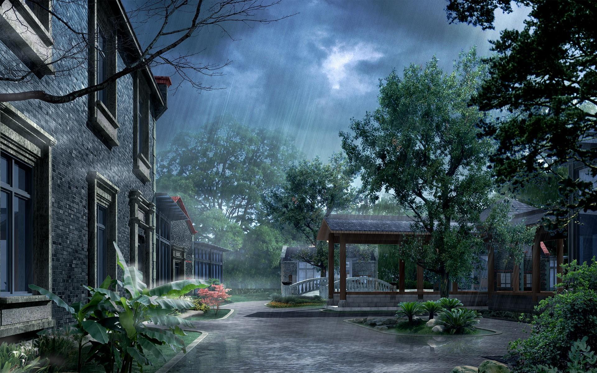 2560x1920 Beautiful Rain HD Wallpapers For Desktop