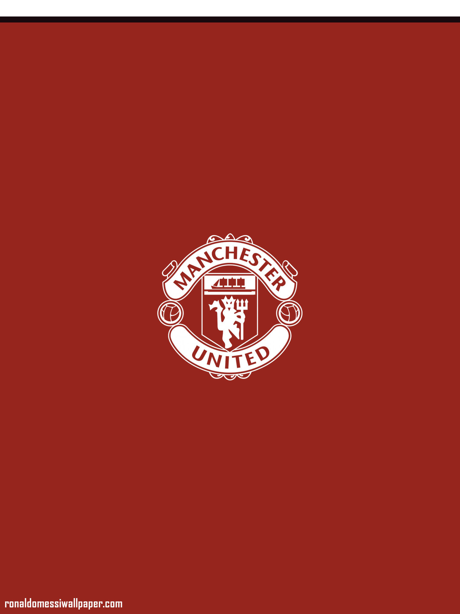 1536x2048 Minimalist Mufc iPhone Wallpapers Reddevils