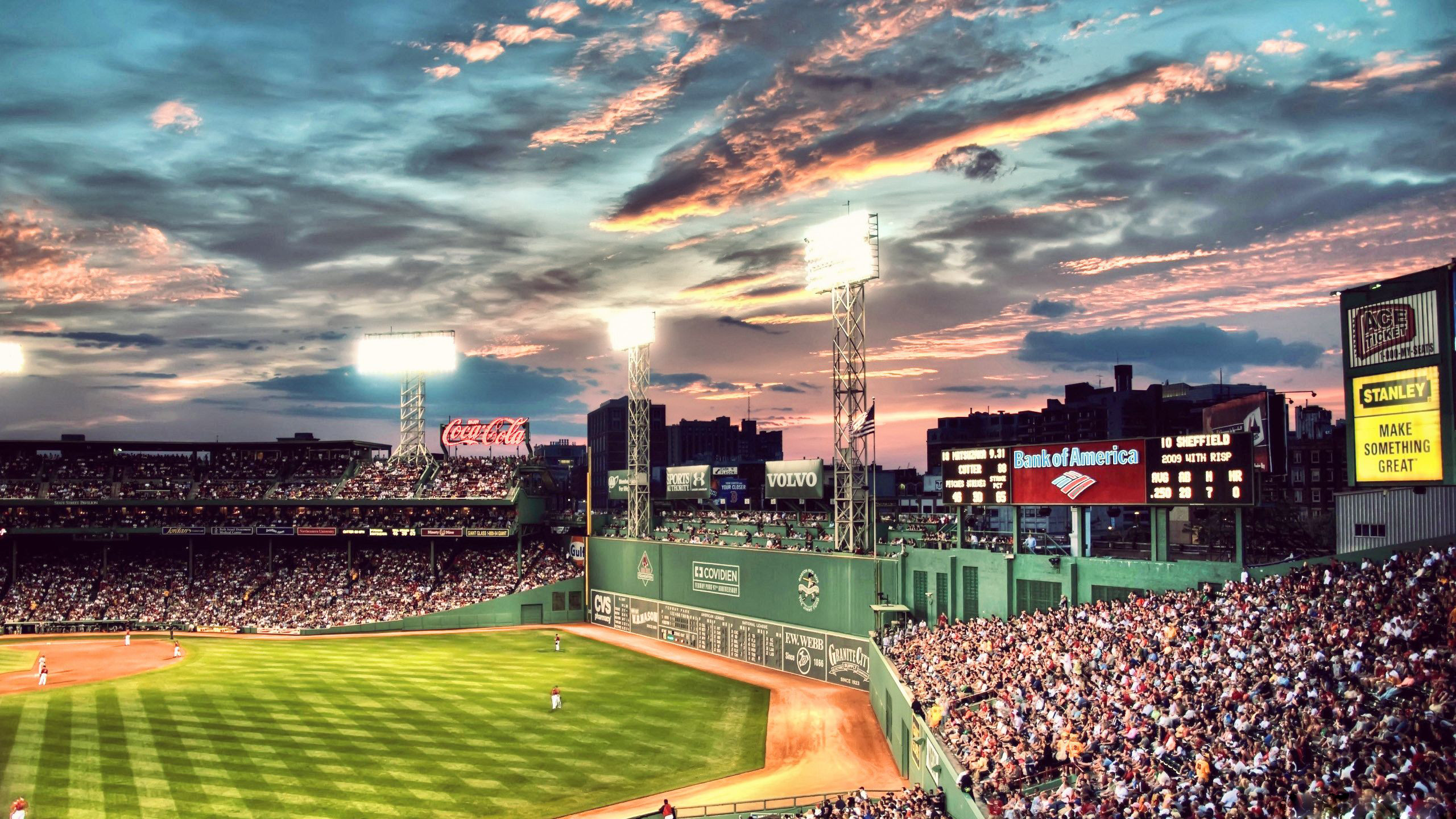 2560x1440 Wallpapers Fenway Park HD Download