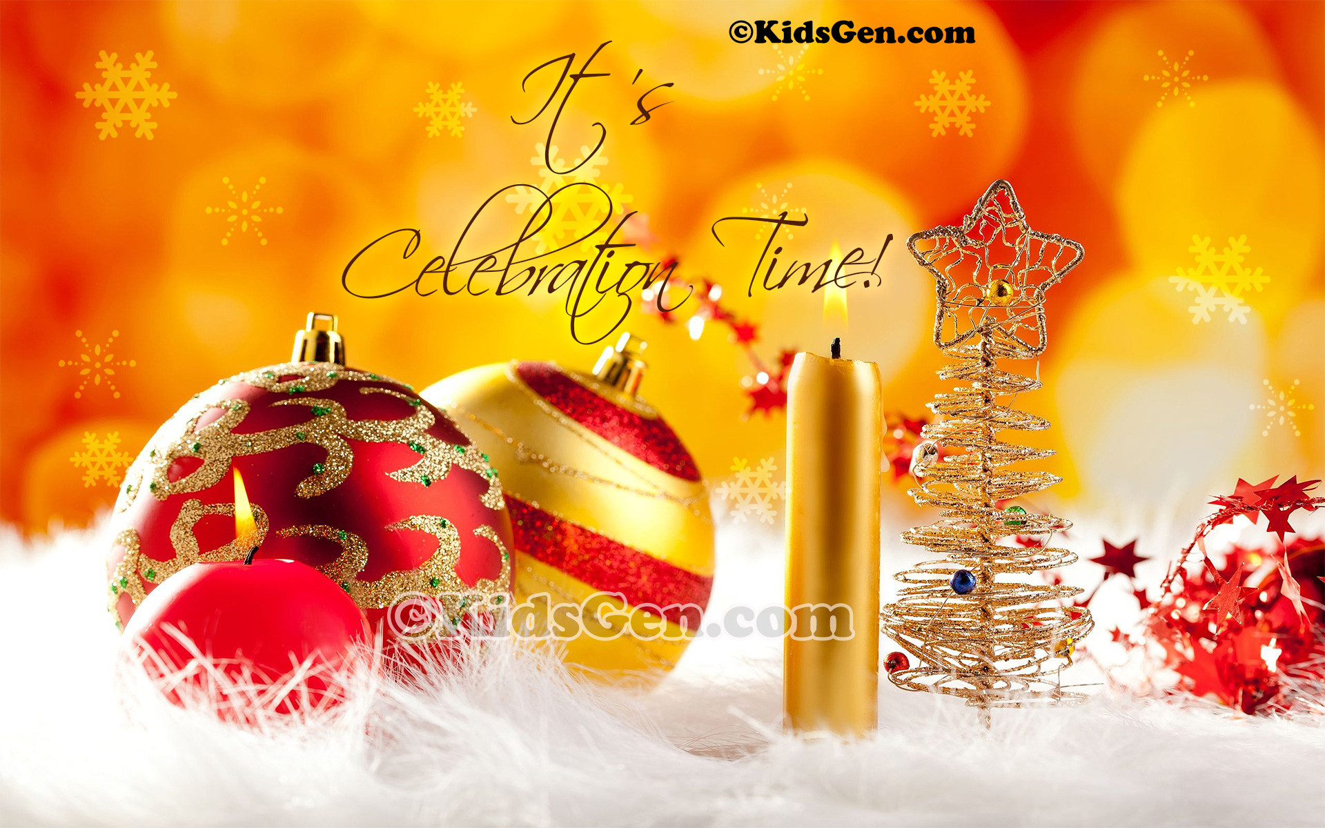 1920x1200 A wonderful high quality Christmas wallpaper showcasing the spirit of  celebration.