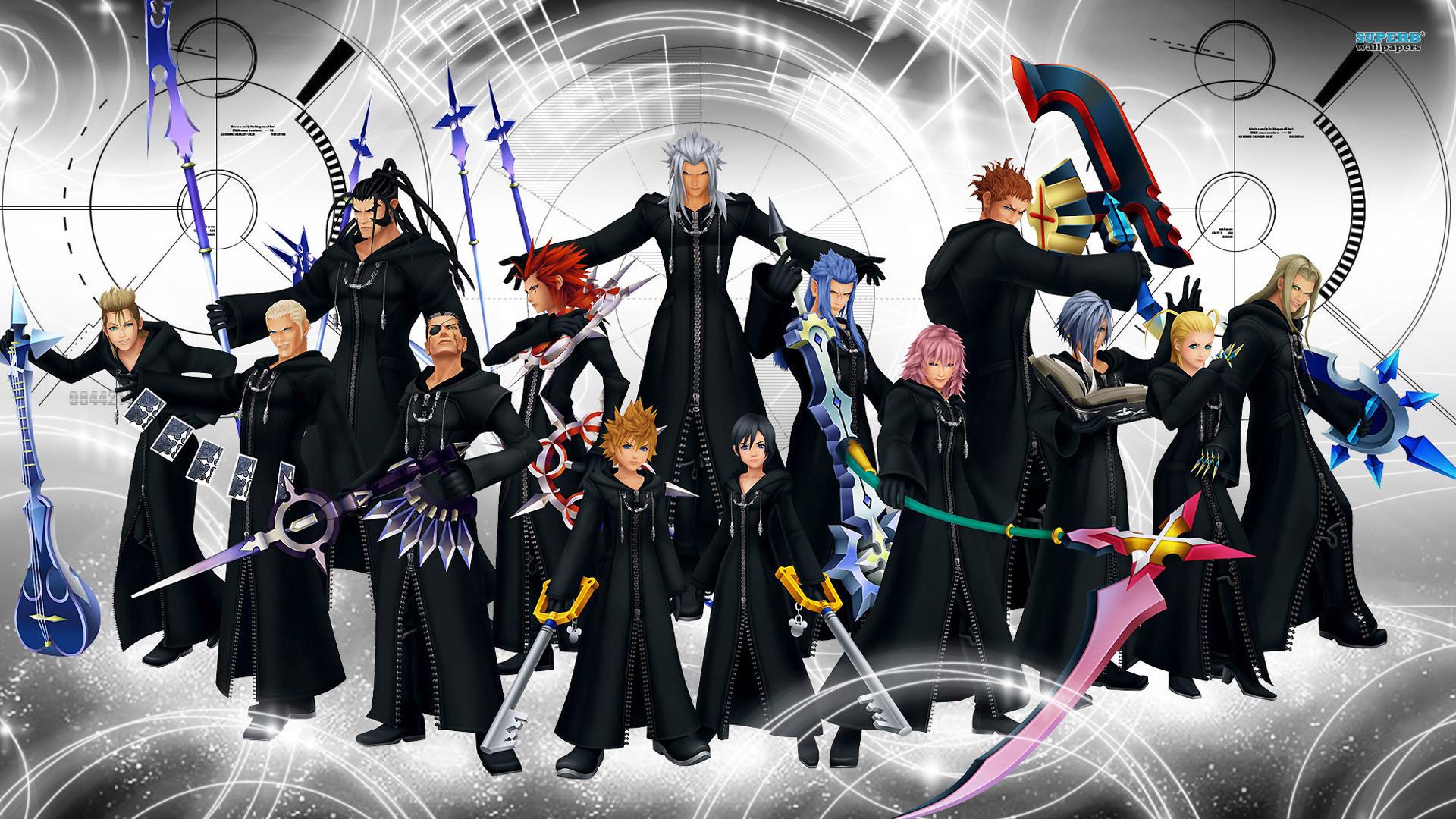 Kingdom Hearts Riku Wa...
