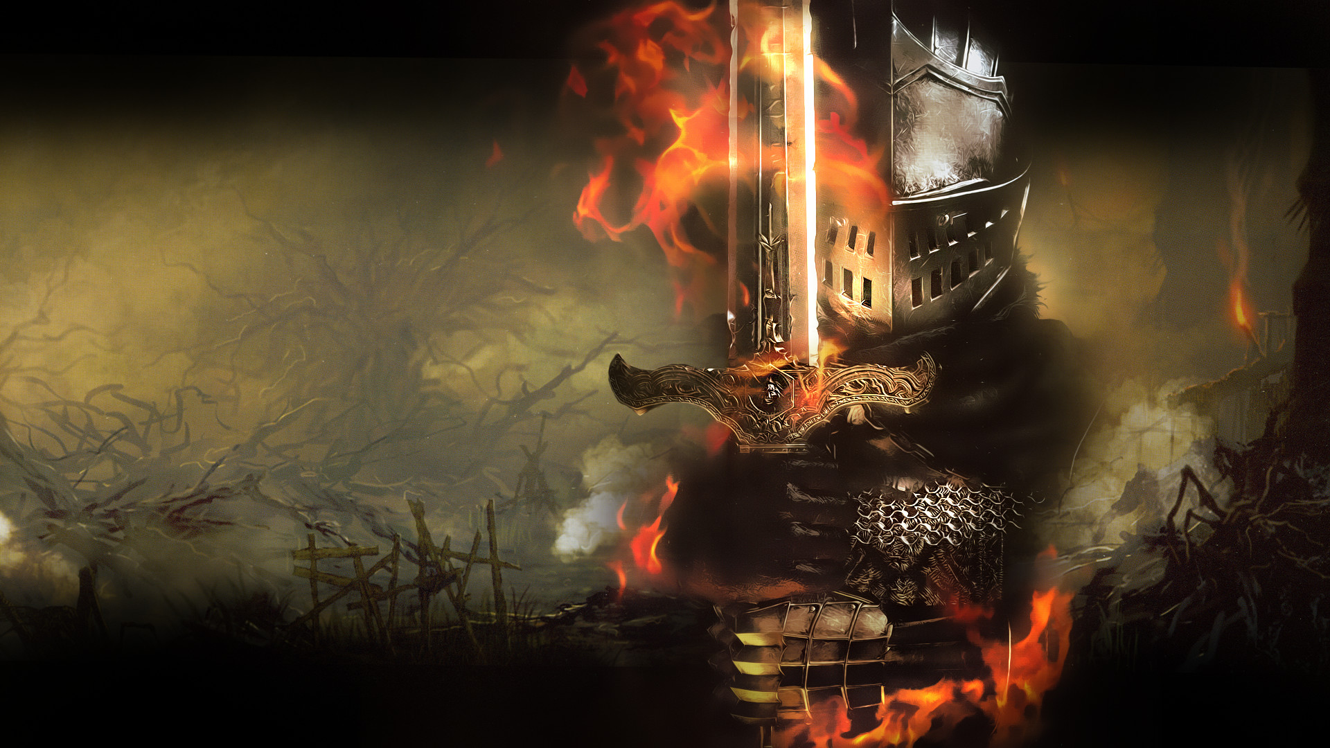 1920x1080 Beautiful Dark Souls Backgrounds in HQFX