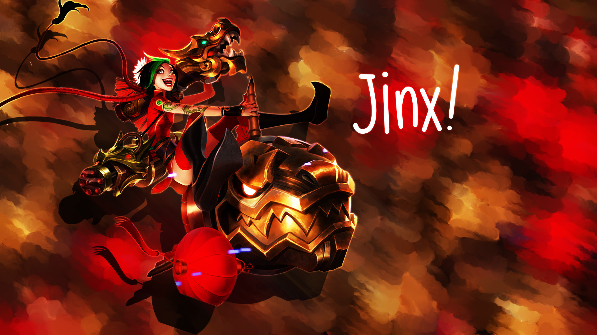 1920x1080 145 Jinx (League Of Legends) HD Wallpapers | Backgrounds .