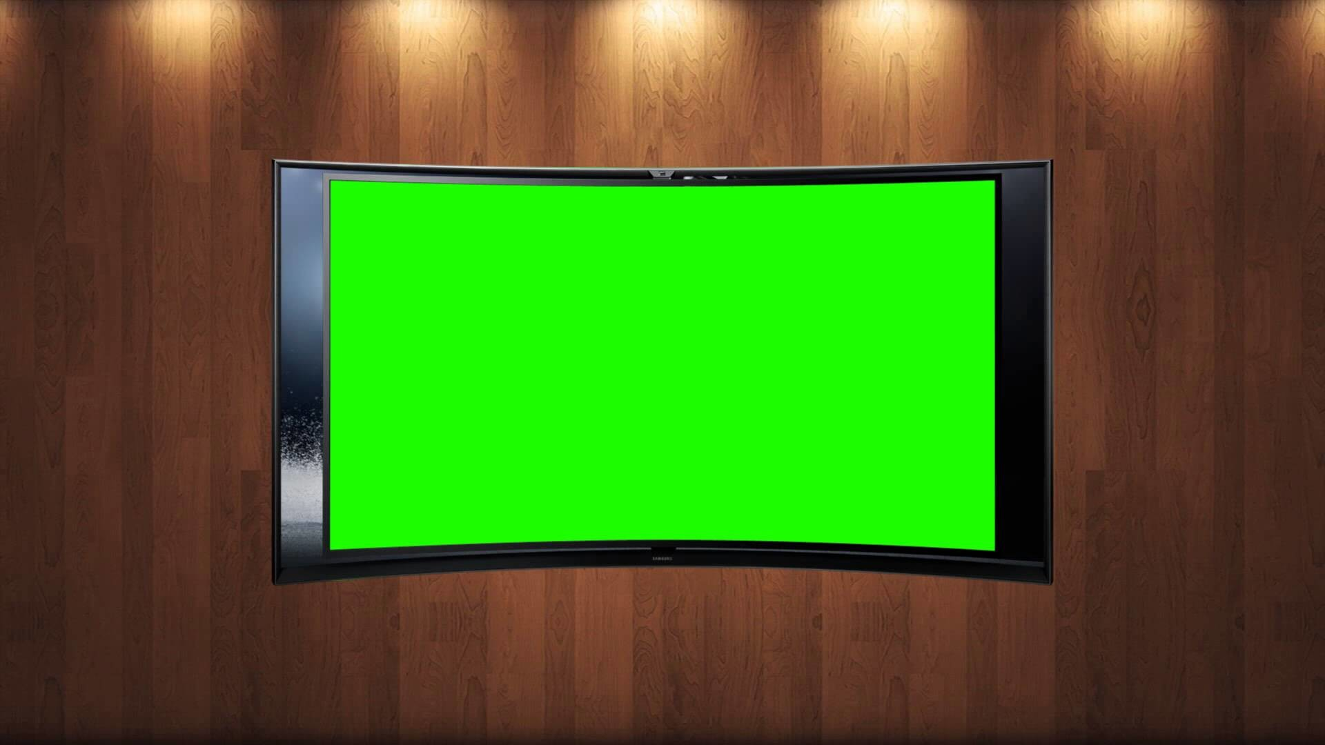 1920x1080 tv news studio background in green screen free stock footage