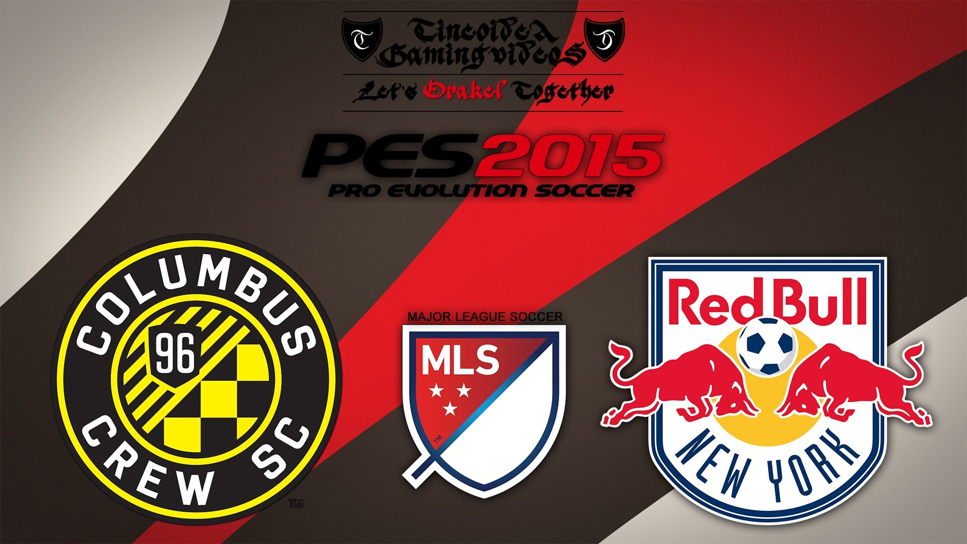 1920x1080 Columbus Crew - New York Red Bulls | MLS-Orakel | PES 2015 | Tineoidea TV  [HD | GER]