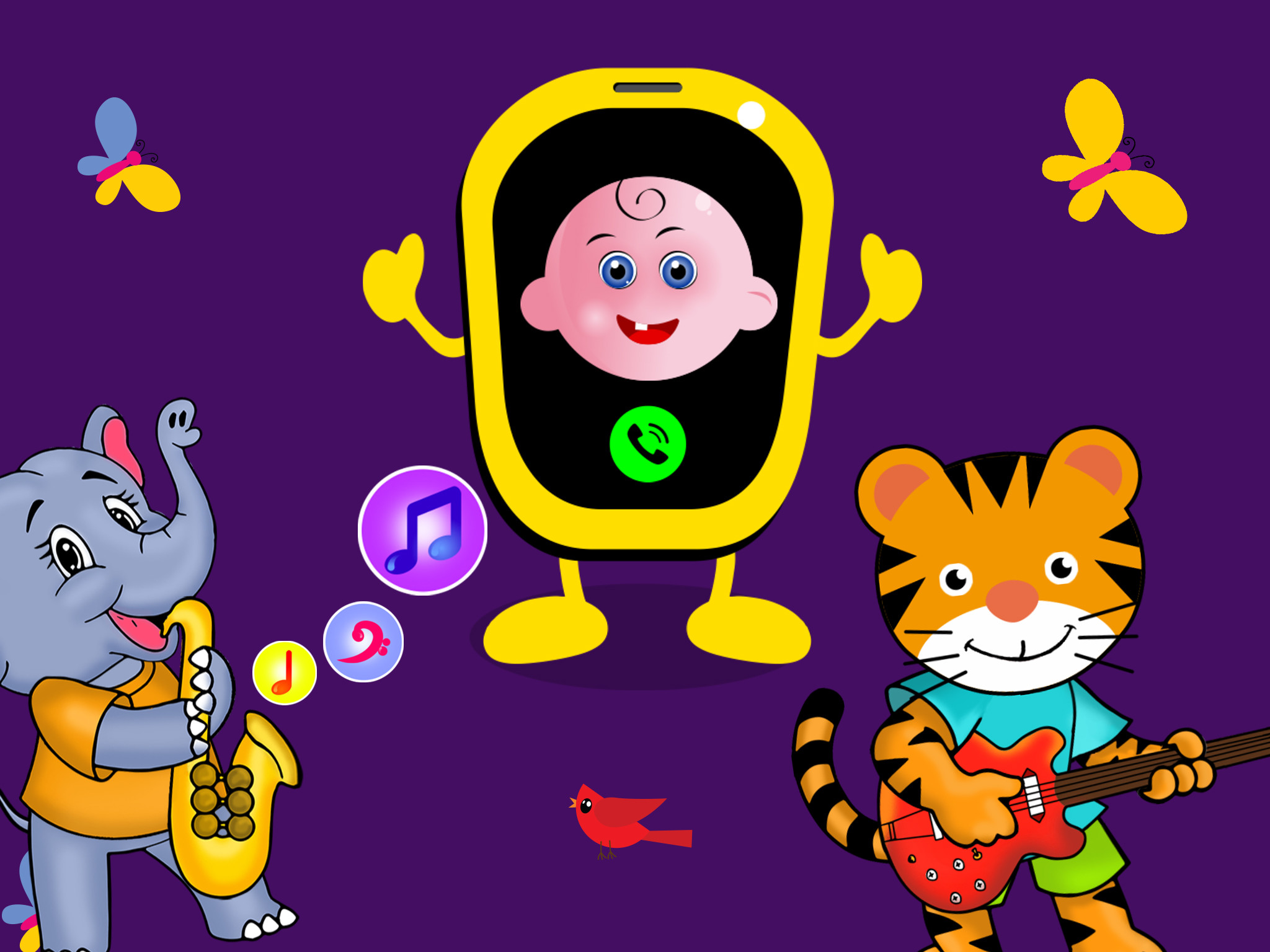2048x1536 Play phone for kids