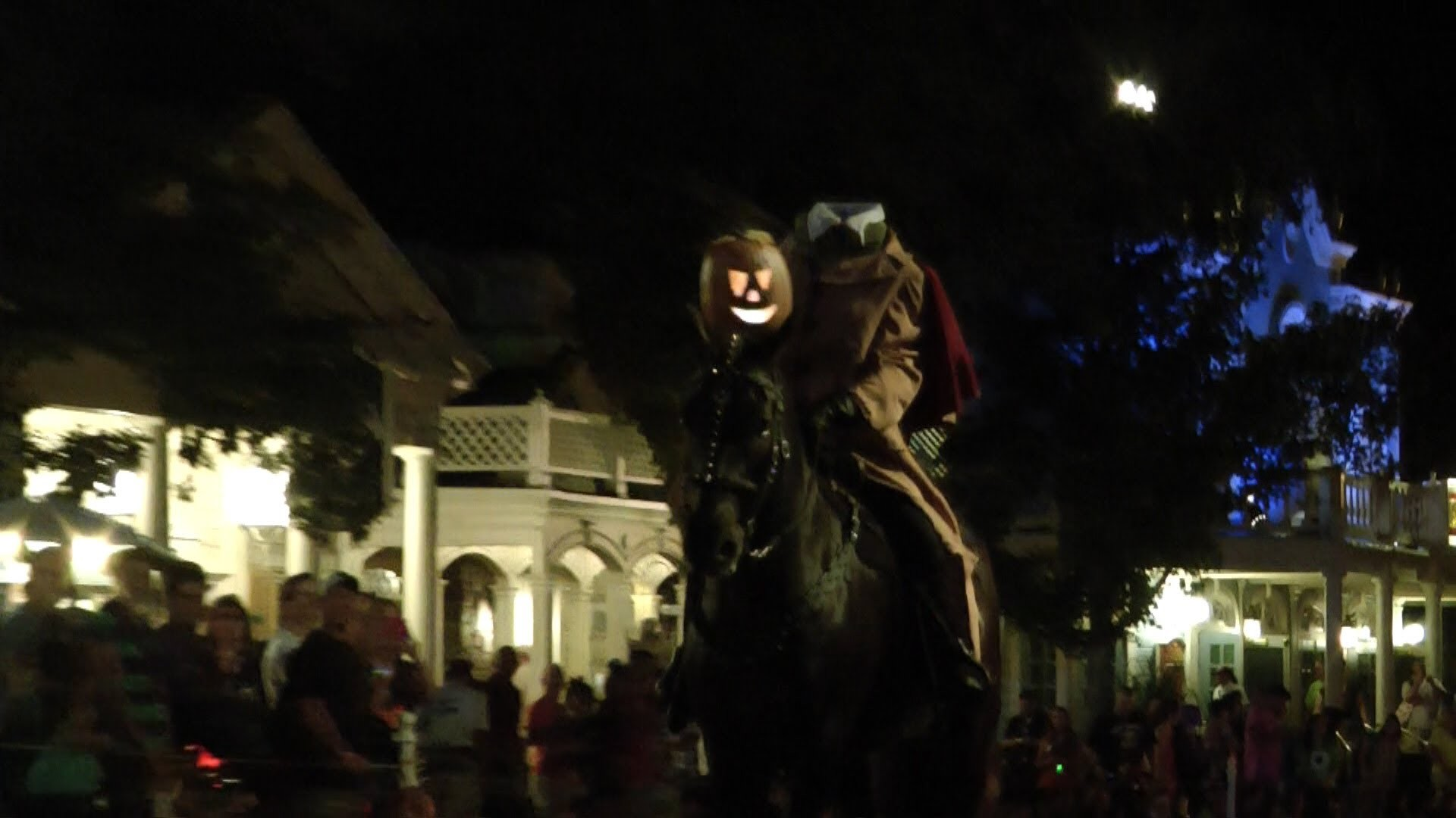 1920x1080 Headless Horseman Rides Before Boo to You Parade at Mickey's Not So Scary  Halloween Party 2013