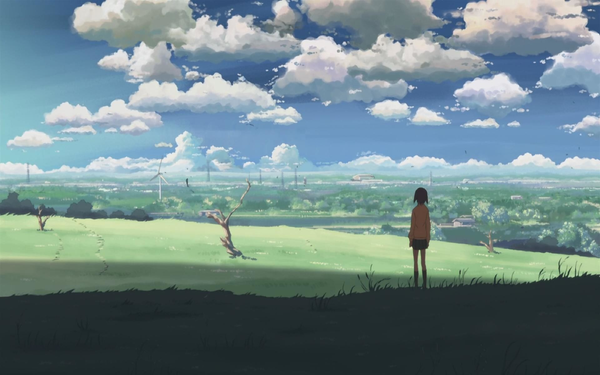 1920x1200 Tags: Anime, Makoto Shinkai, 5 Centimeters Per Second, Wallpaper