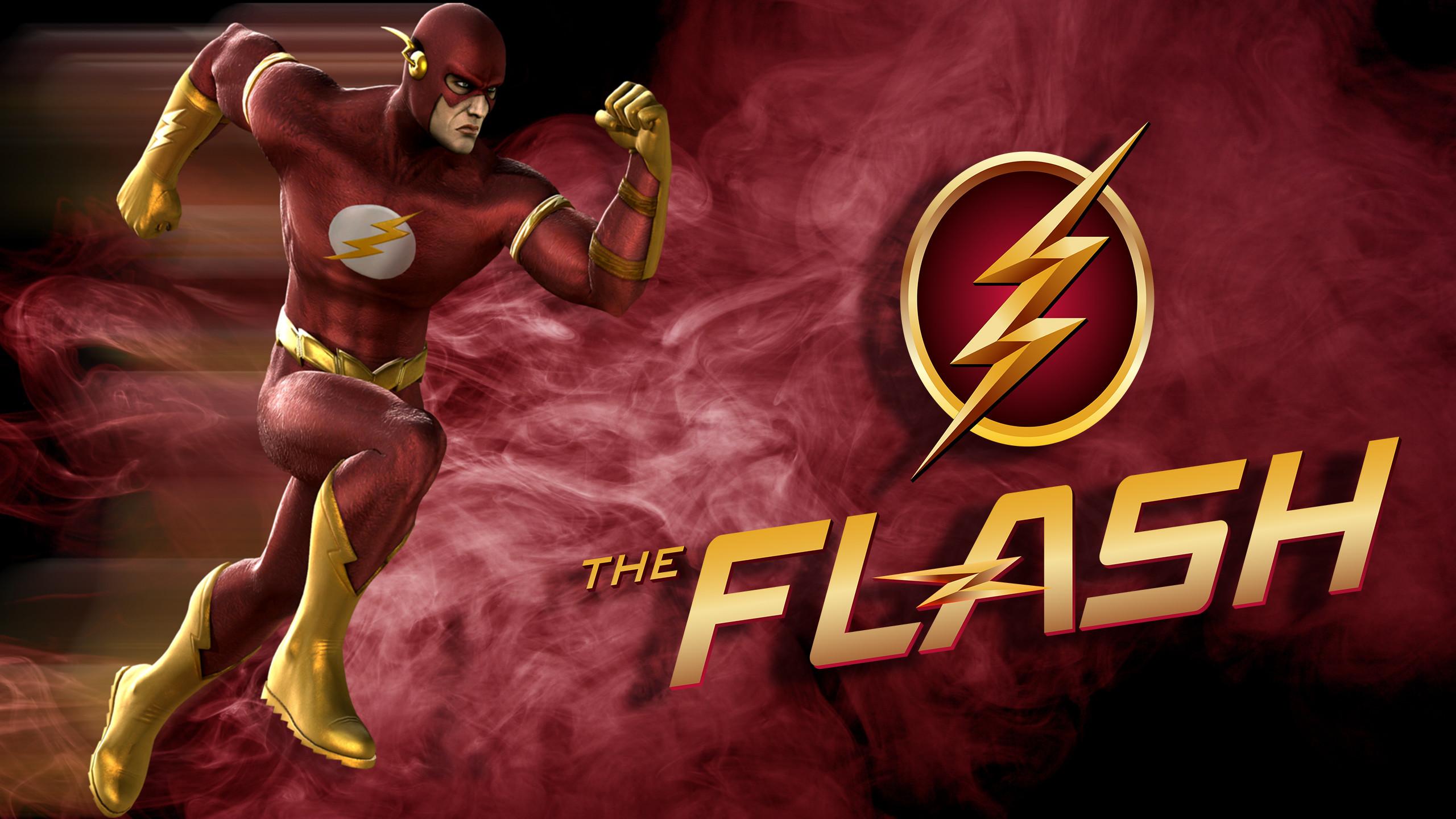 1920x1080 The Flash Logo Background