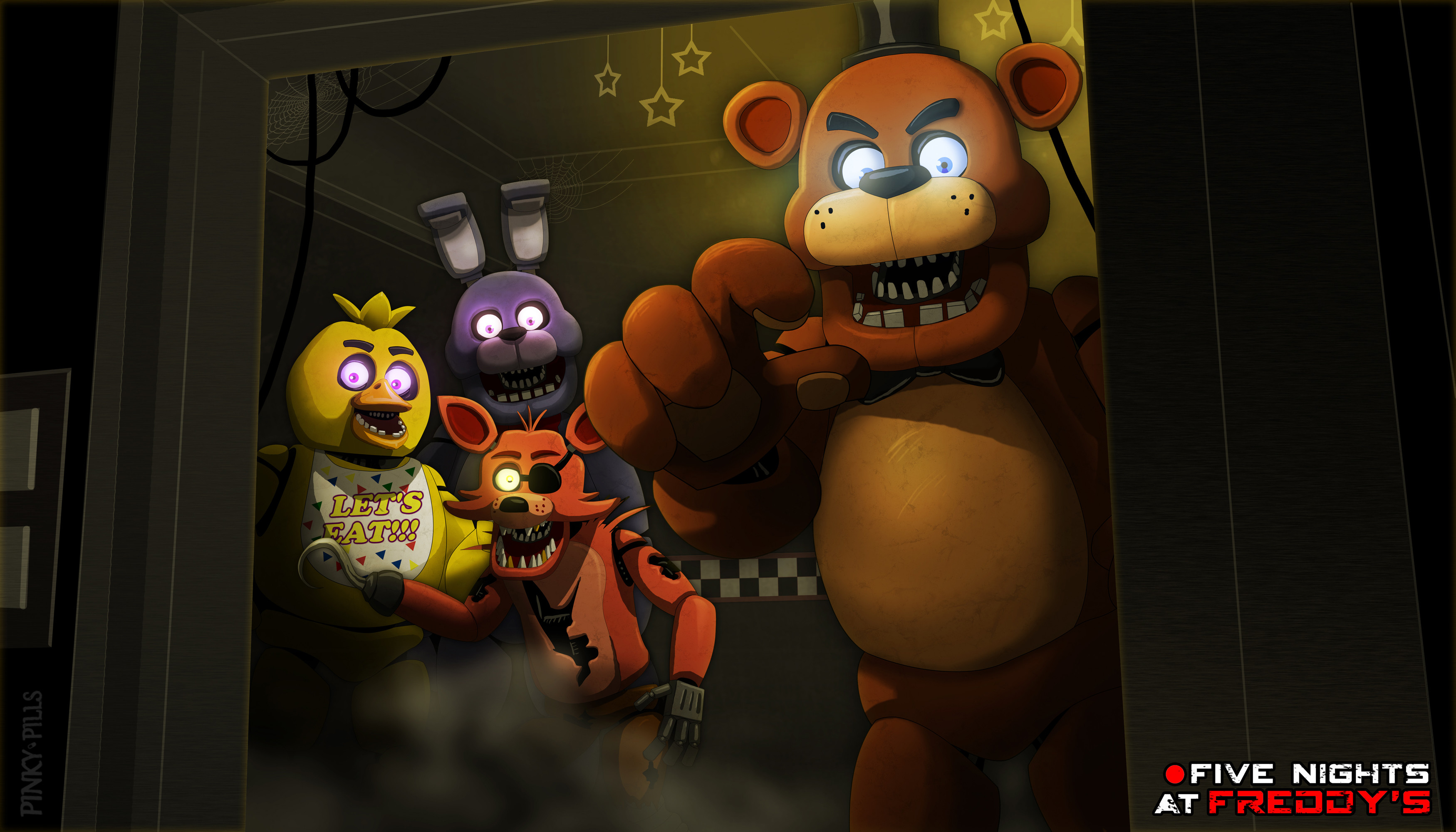3500x2000 FNaF1 Wallpaper by PinkyPills FNaF1 Wallpaper by PinkyPills