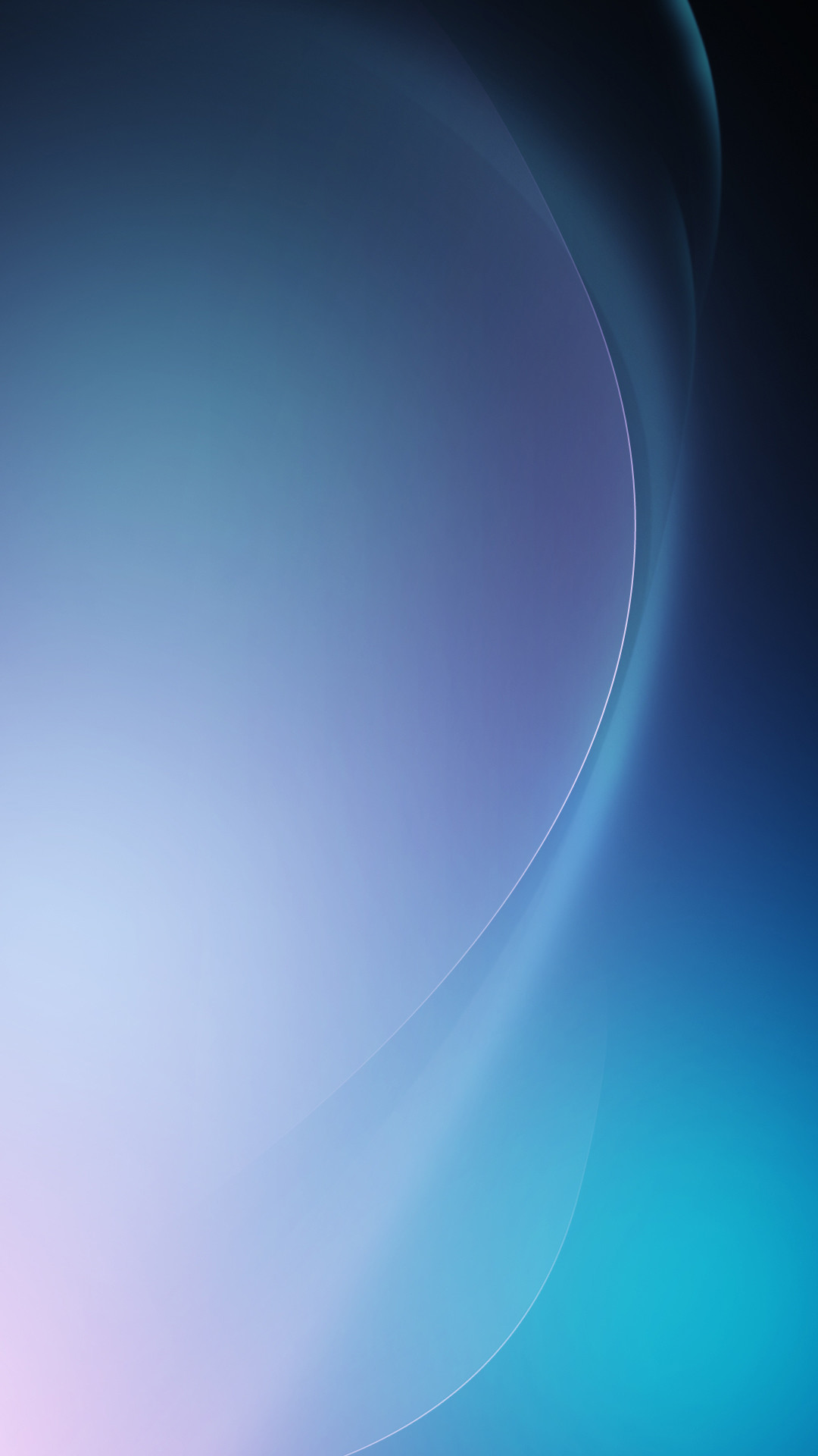 1080x1920 Abstract Blue Wave Android Wallpaper ...