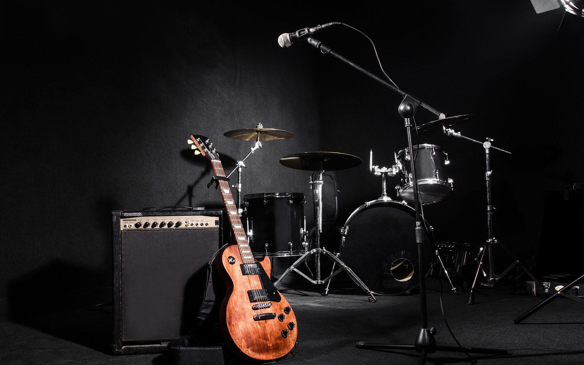 Wallpapers Hd 3d Music: Gibson Guitar Wallpaper HD (54+ Images