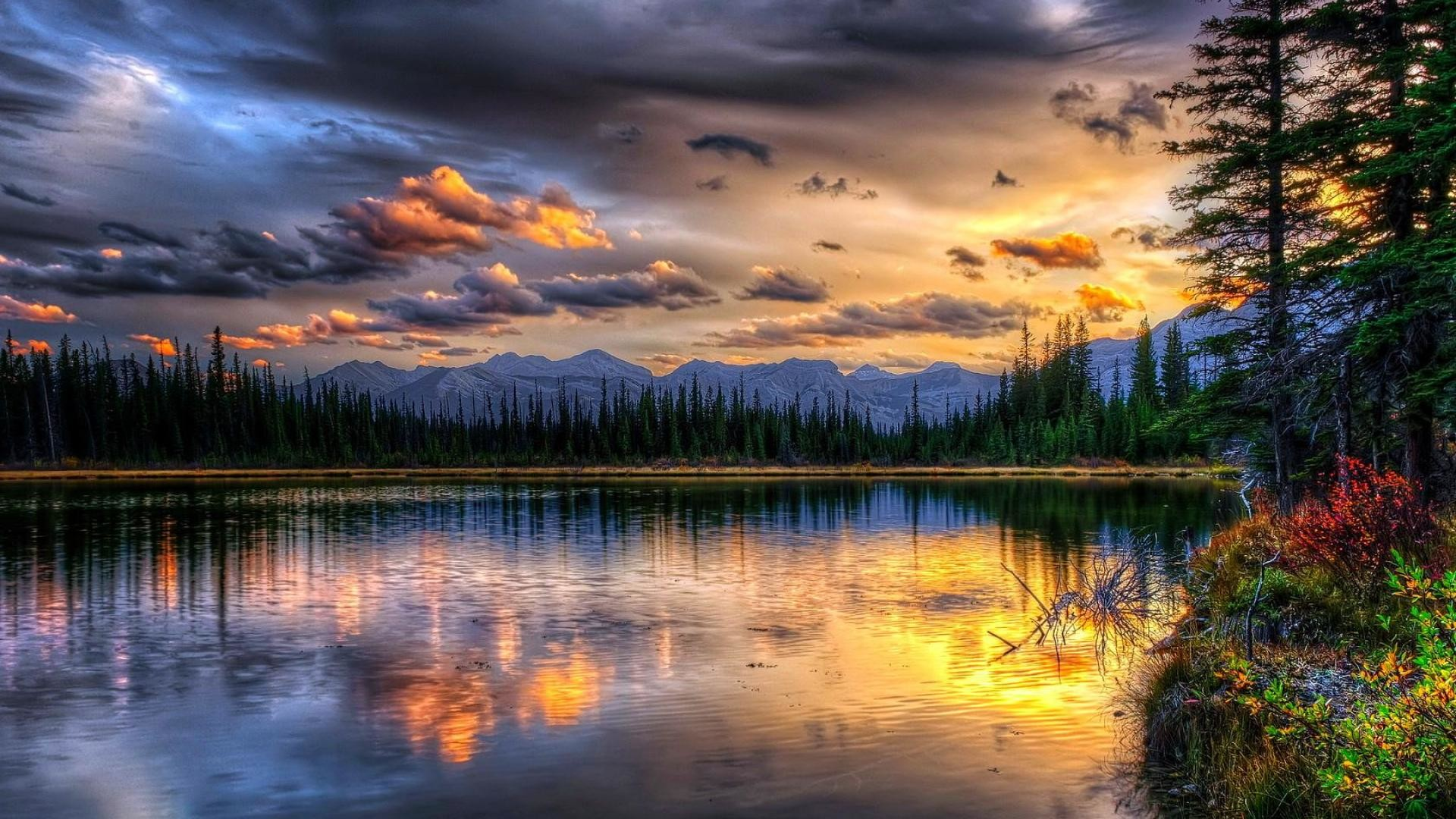 1920x1080 Most Beautiful Mountain View Landscape Desktop Wallpaper