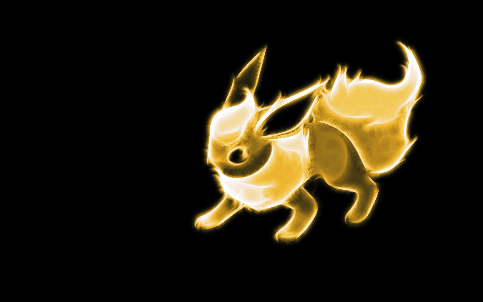 1920x1200 Pokemon Flareon Wallpaper  Pokemon, Flareon, Black .