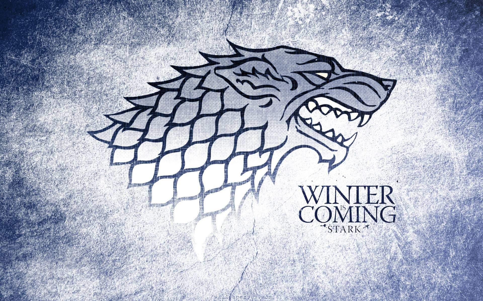 1920x1200 Winter Is Coming, Stark Wolf Grunge Logo  WIDE Image TV .