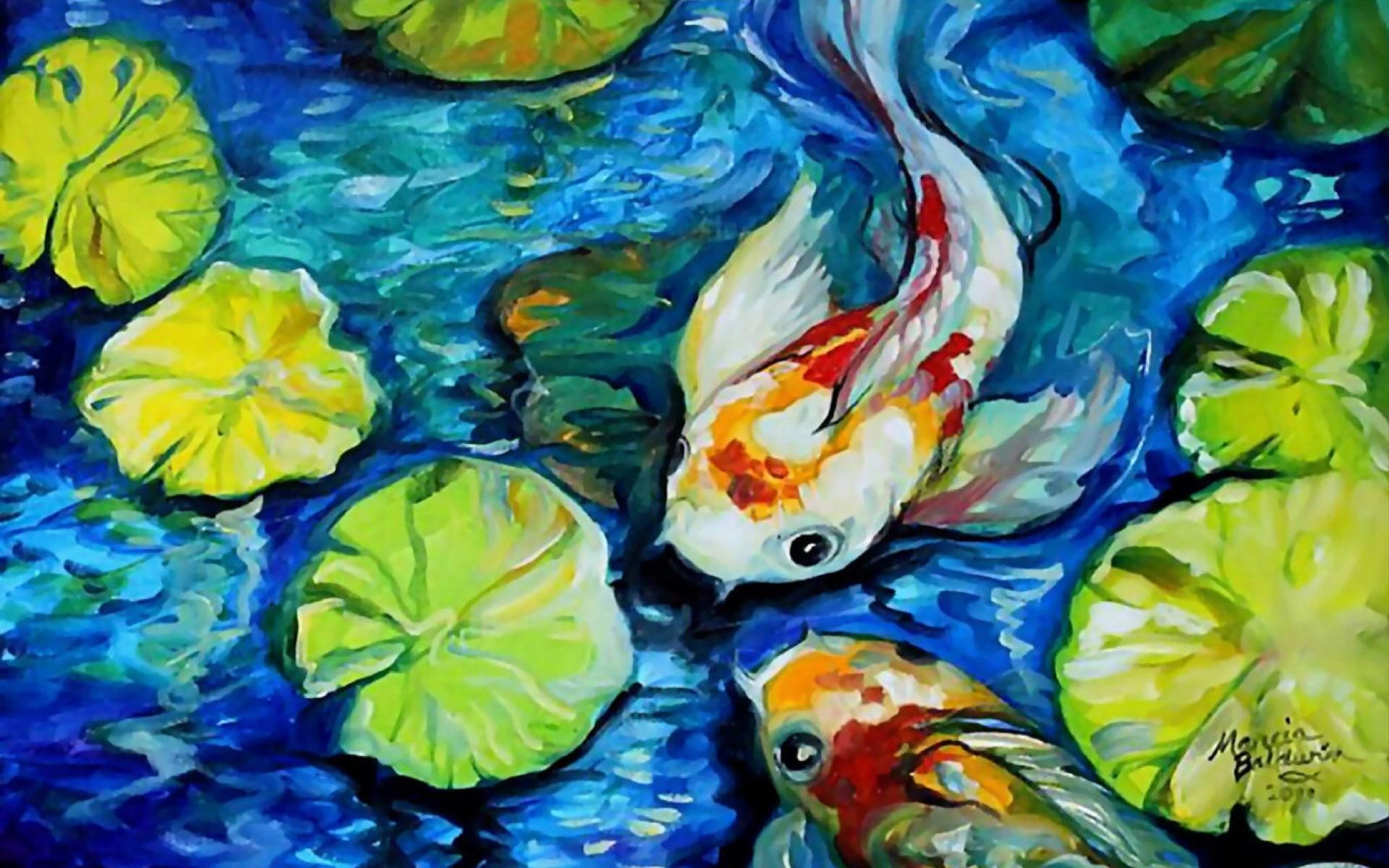 Koi fish wallpaper 59 images for Koi pond screensaver