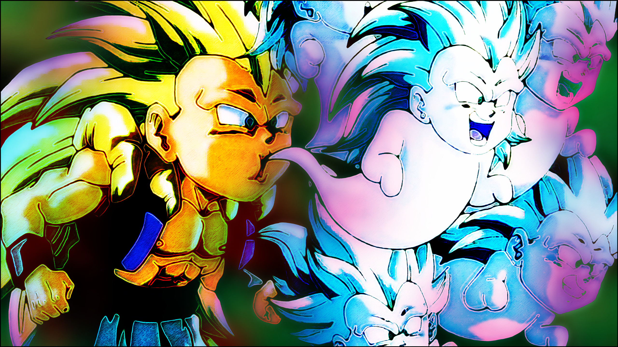 Dragon Ball Z Gotenks Wallpaper