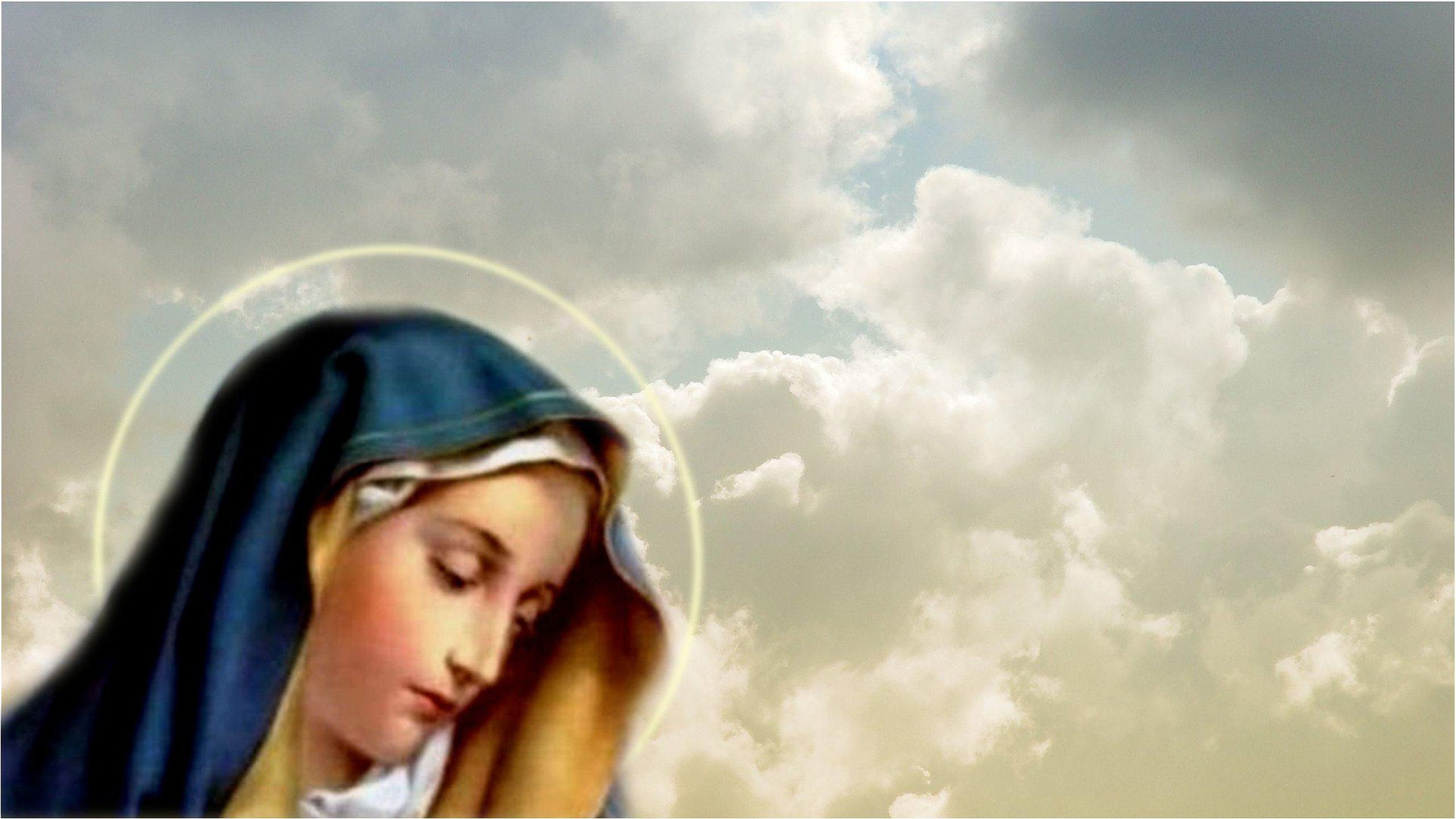 Mother Mary With Baby Jesus Wallpaper (34+ Images